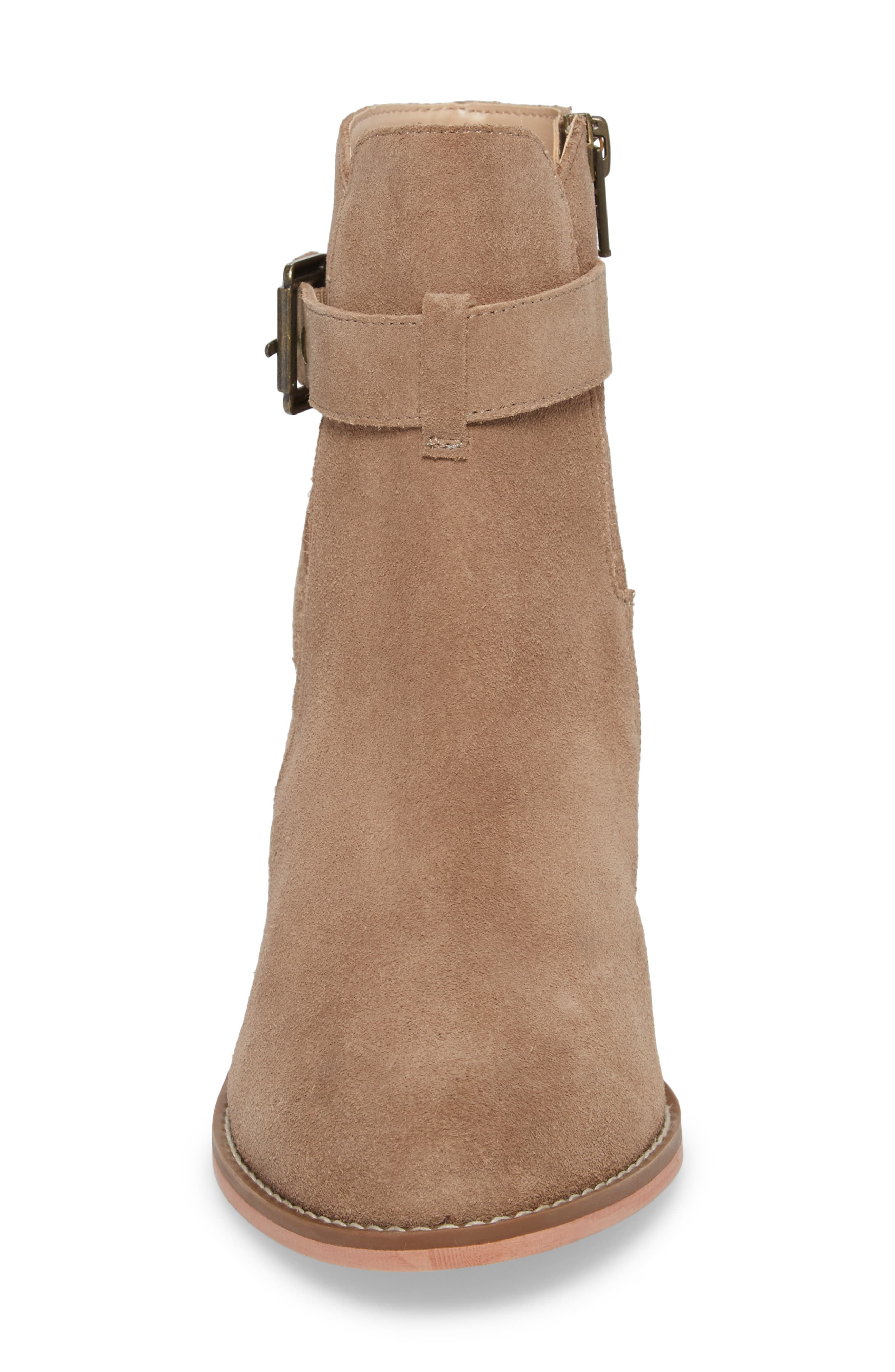 Alternate Image 4  - Sole Society Paislee Buckle Strap Bootie (Women)