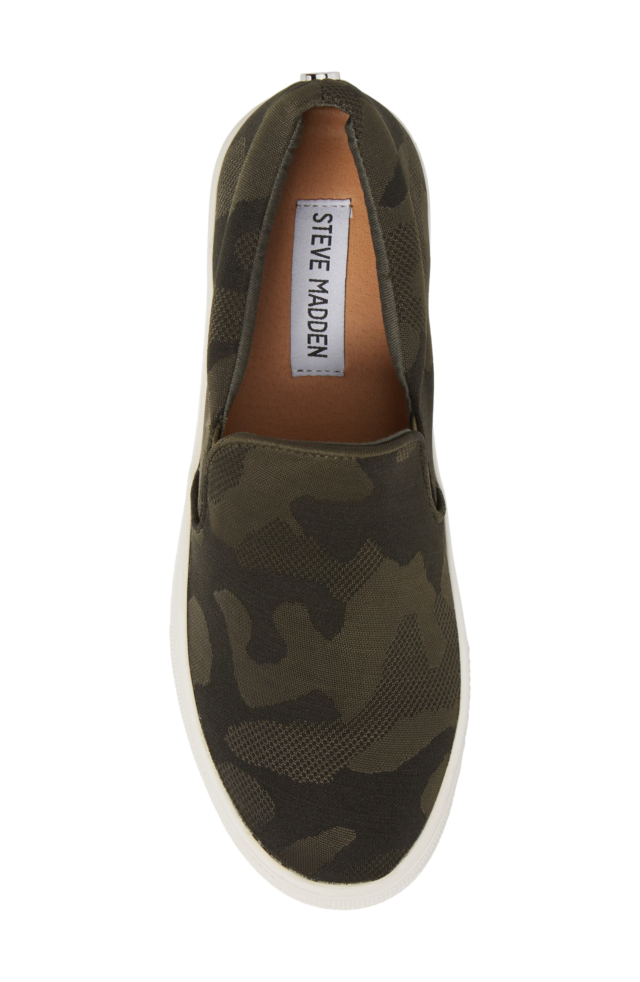 Alternate Image 5  - Steve Madden Gills Platform Slip-On Sneaker (Women)