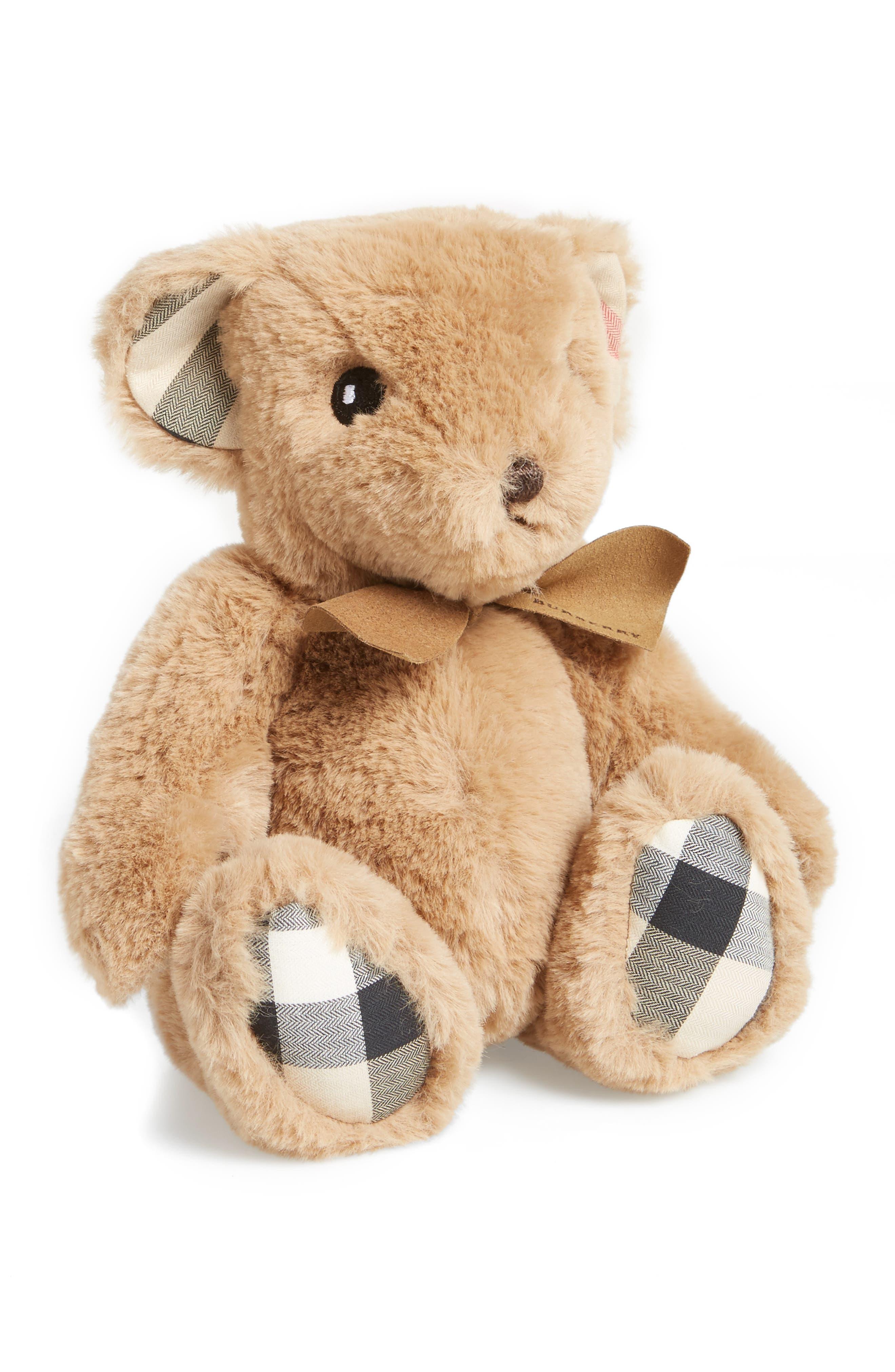 Alternate Image 1 Selected - Burberry Thomas Bear Stuffed Animal