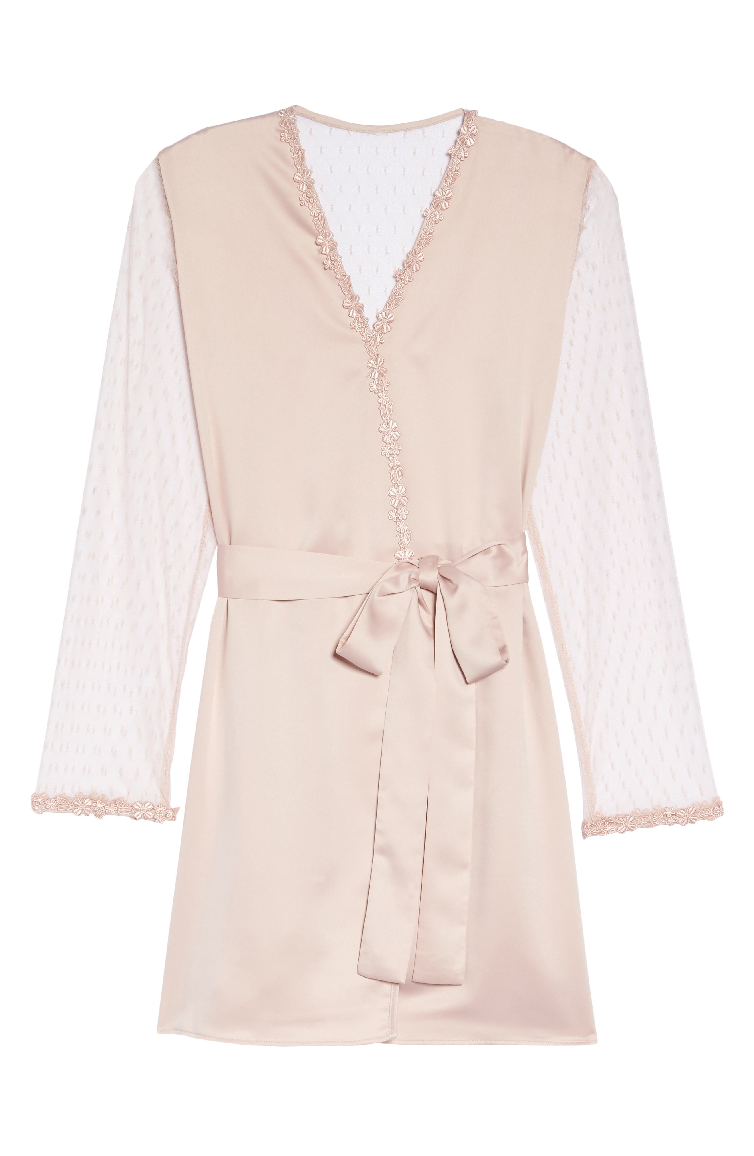 Showstopper Robe,                             Alternate thumbnail 4, color,                             Shell Pink