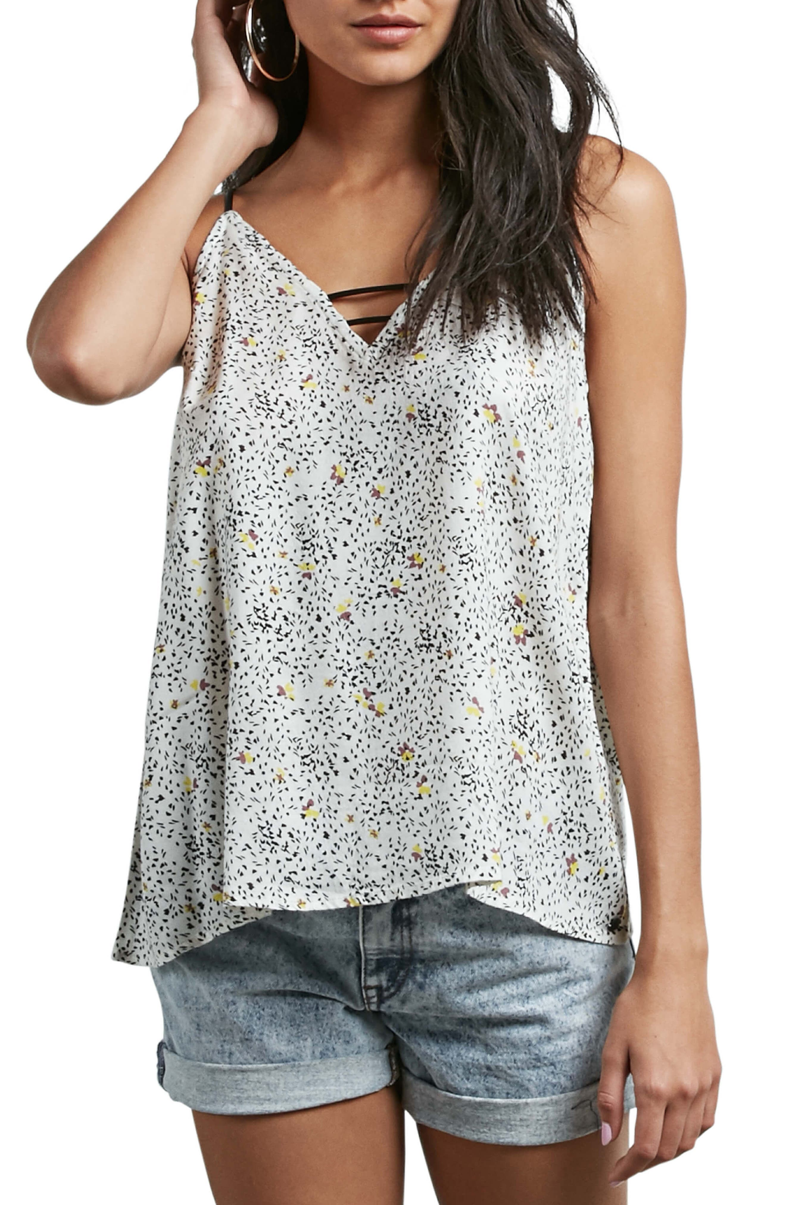 Thx It's a New Top Camisole,                             Main thumbnail 1, color,                             White