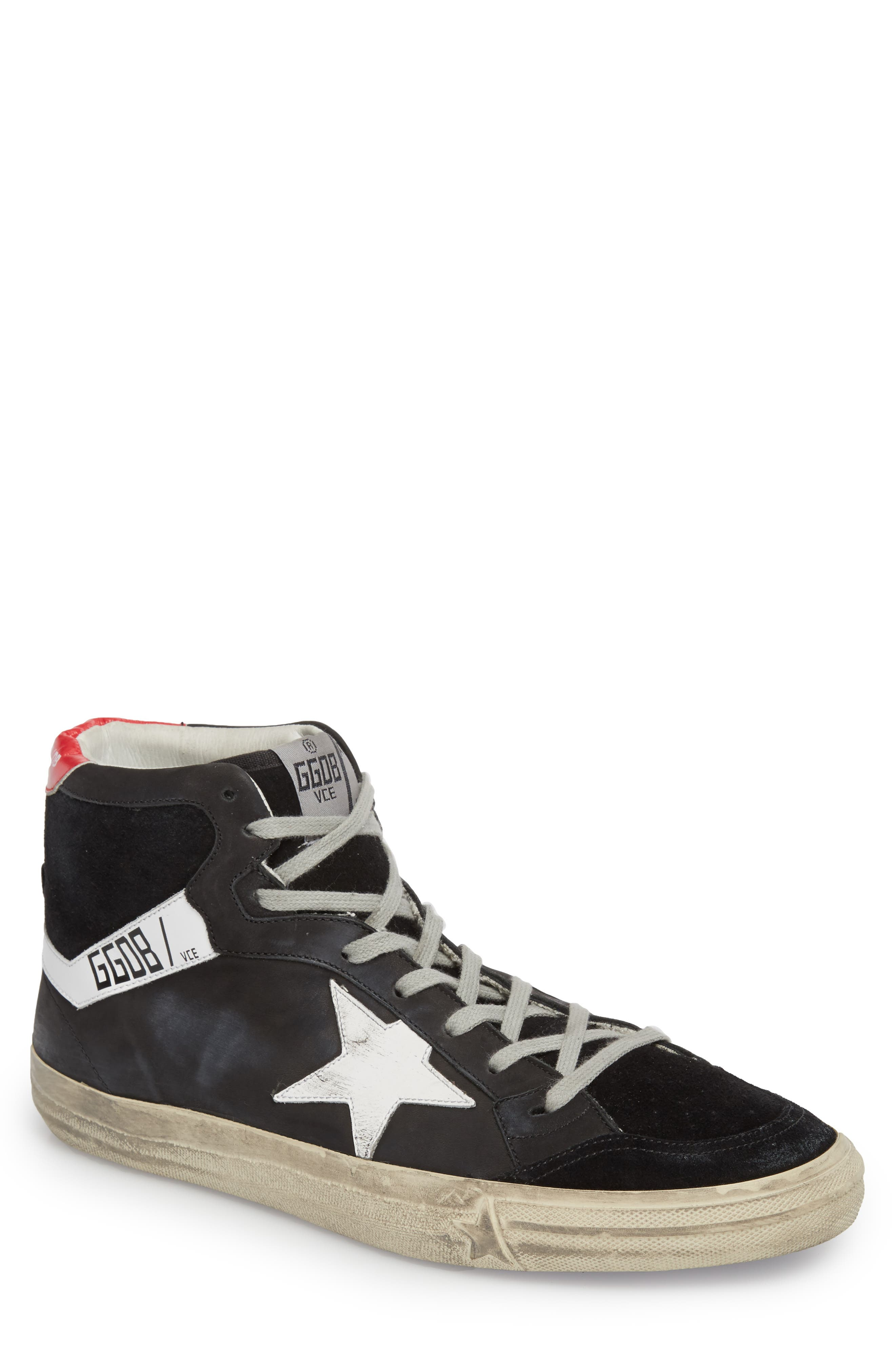 Alternate Image 1 Selected - Golden Goose High Top Sneaker (Men)