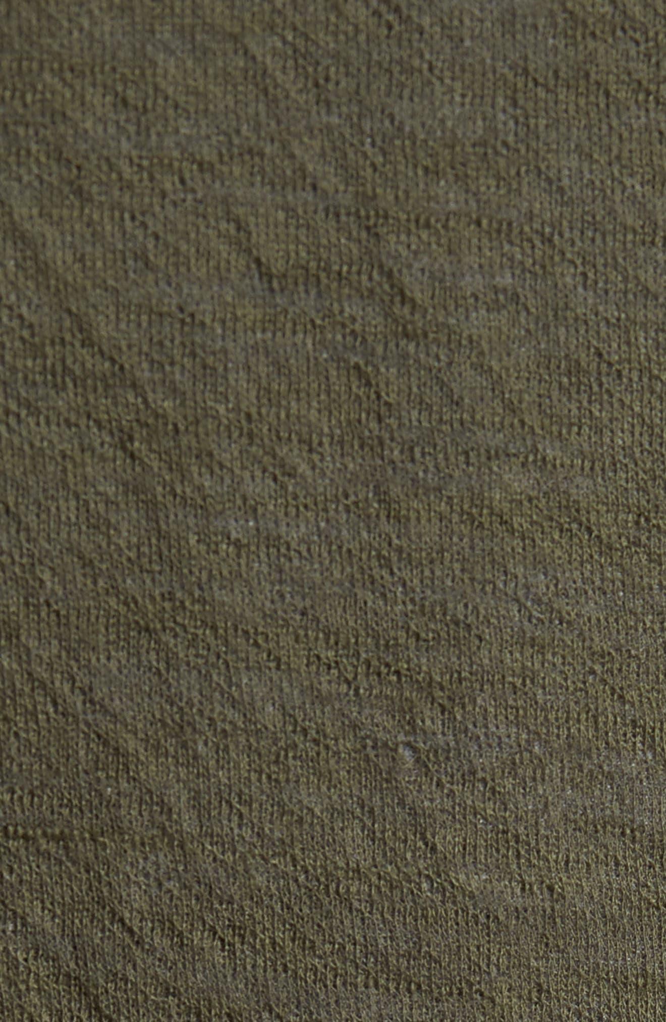 Alternate Image 6  - Vince Double Knit Long Sleeve Shirt