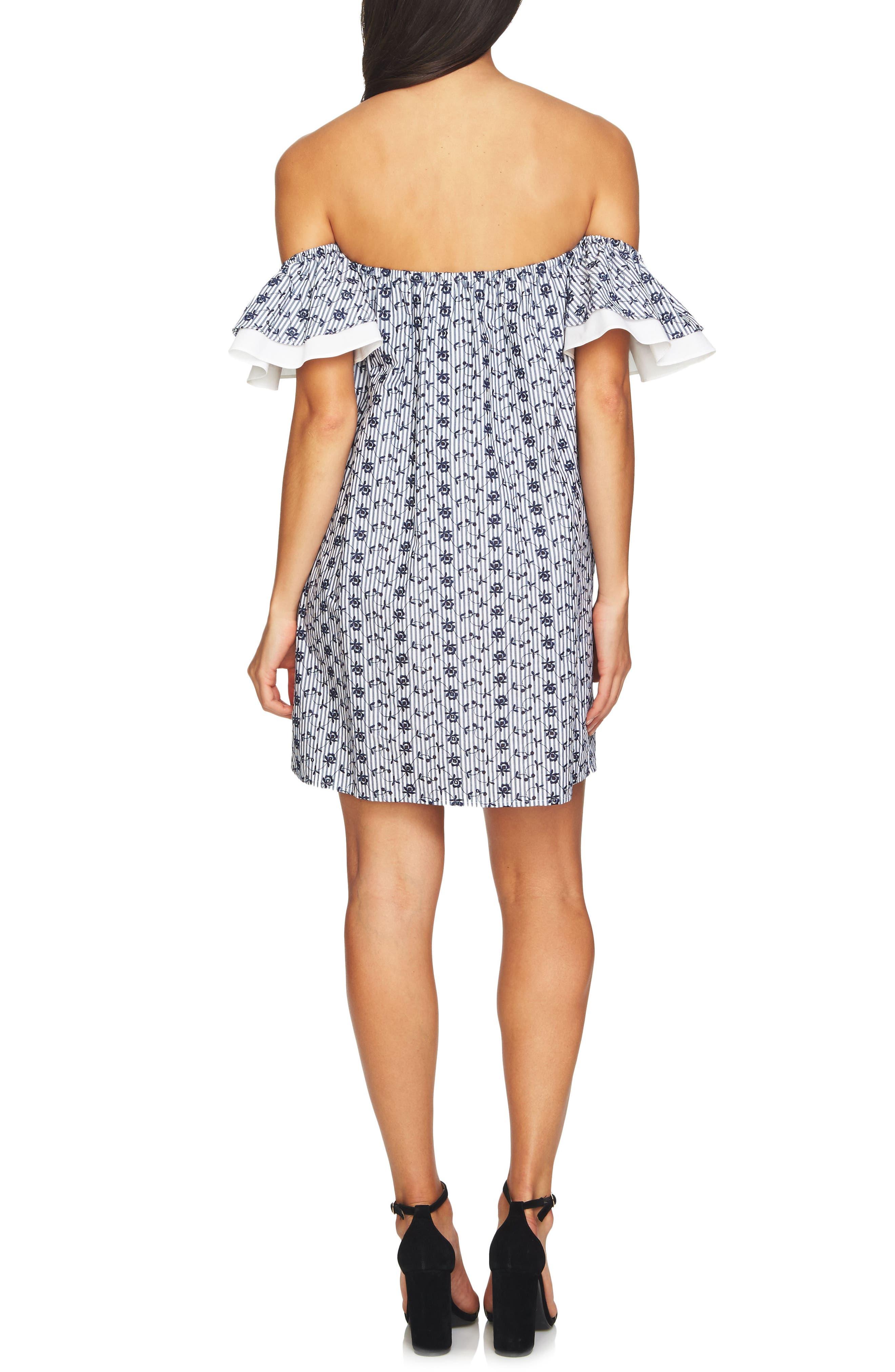 Alternate Image 2  - CeCe Rosanna Off the Shoulder Dress