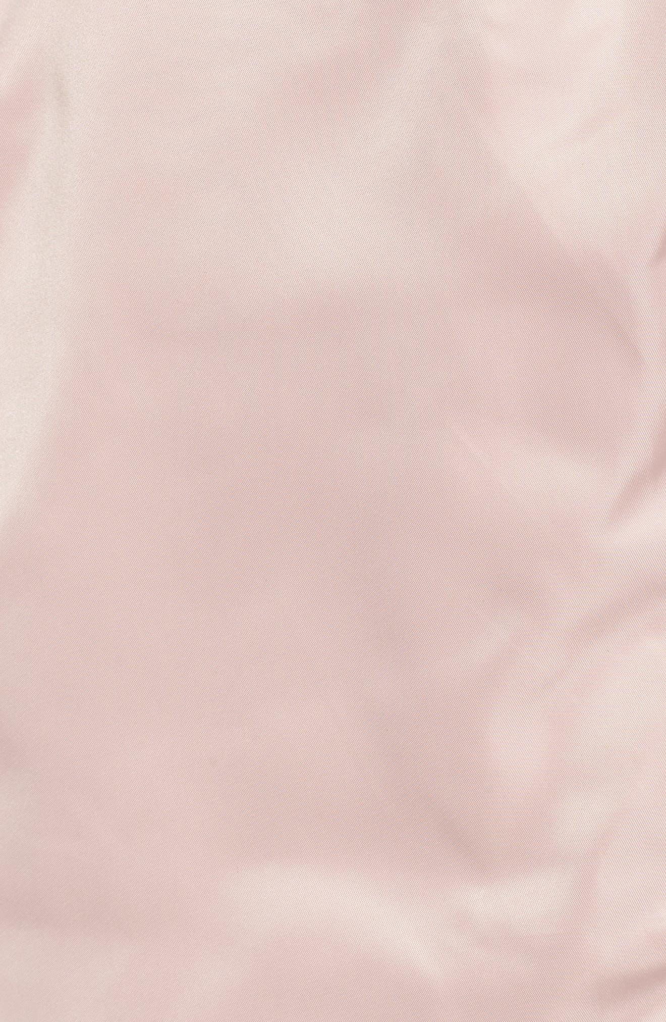 Belted Lightweight Jacket,                             Alternate thumbnail 5, color,                             Blush