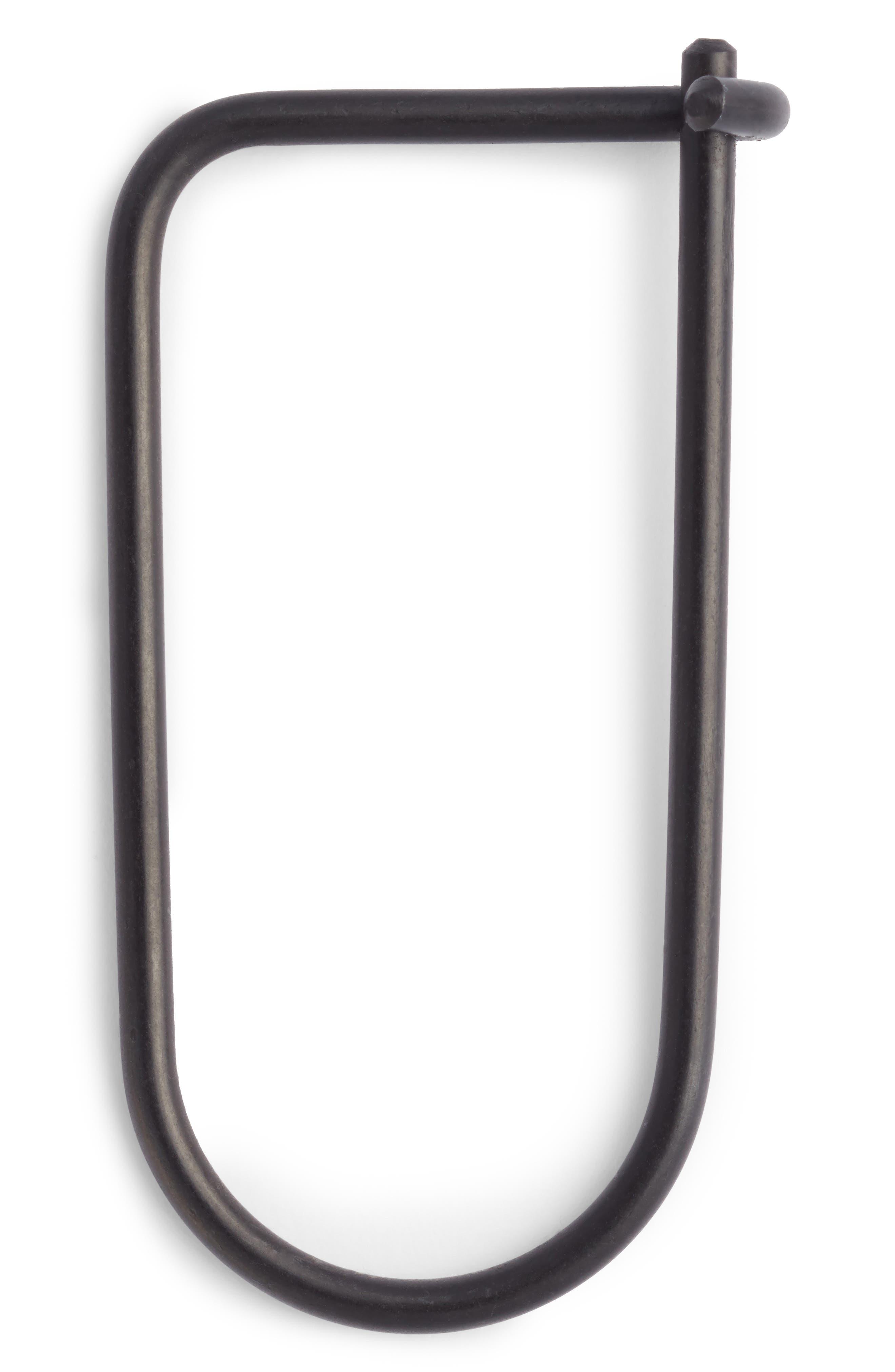 Main Image - Craighill Wilson Carbon Black Steel Key Ring