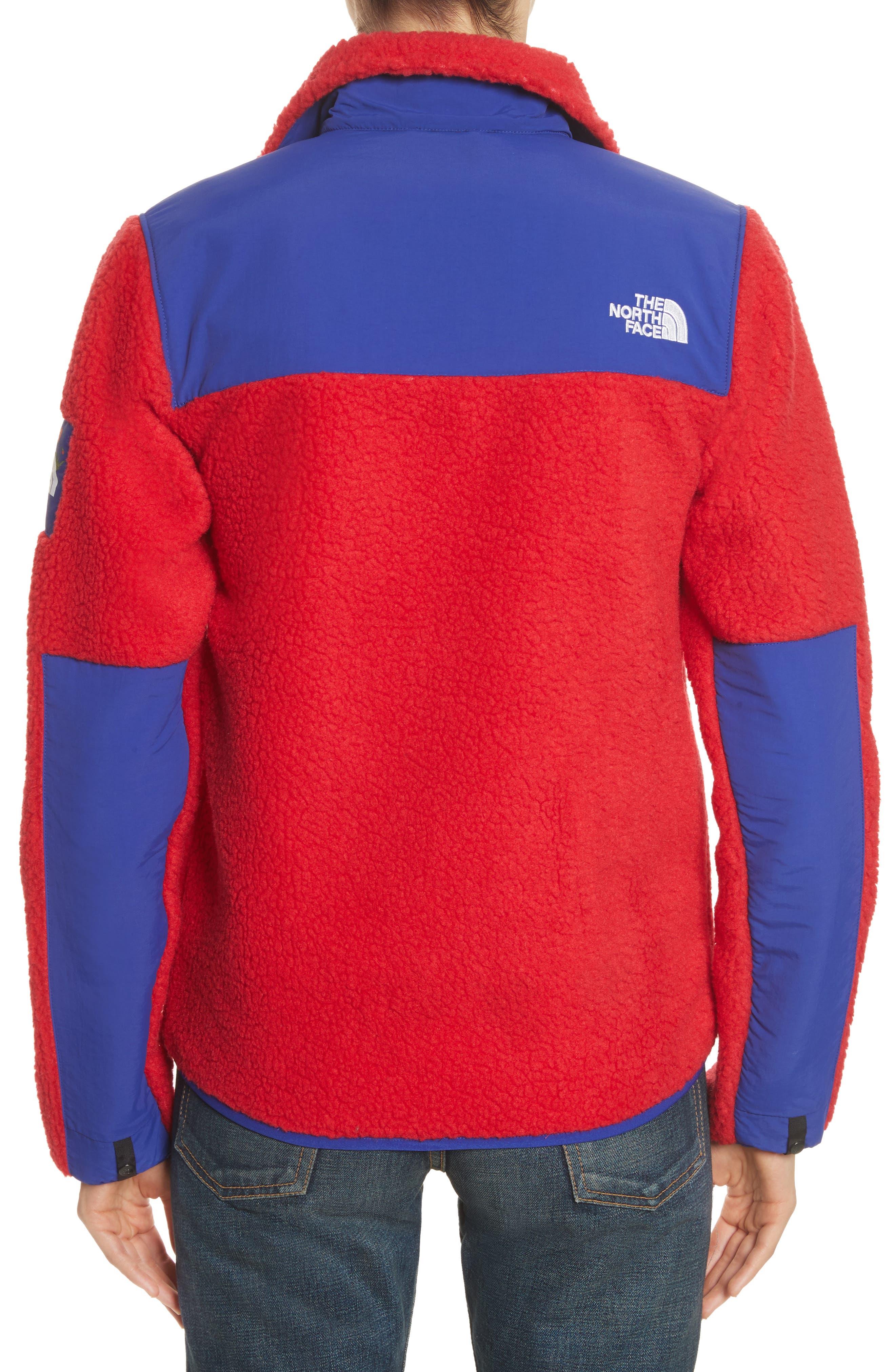 Denali Jacket,                             Alternate thumbnail 3, color,                             Tnf Red