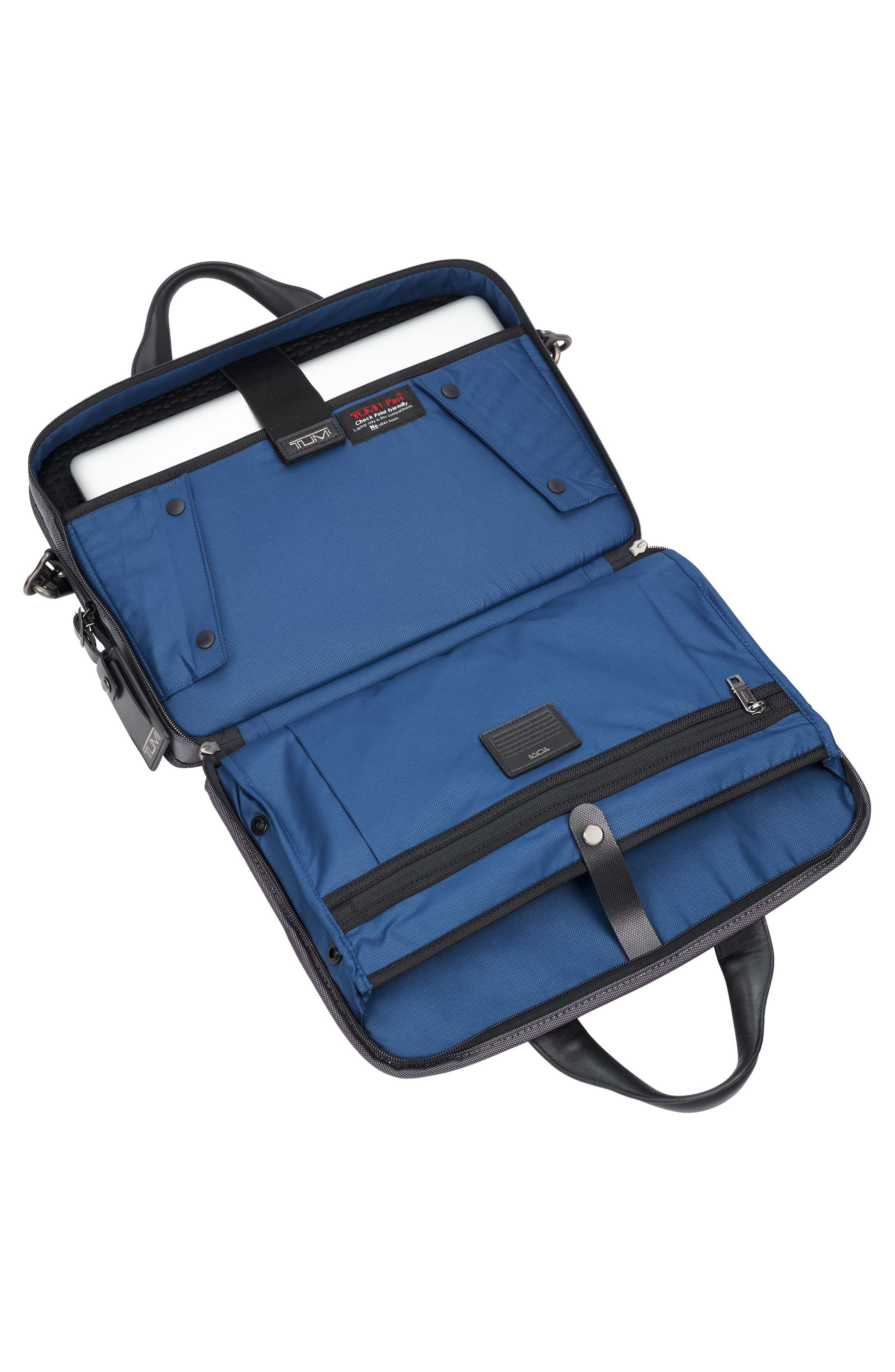 Alpha 2 - T-Pass<sup>™</sup> Briefcase,                             Alternate thumbnail 4, color,                             Pewter