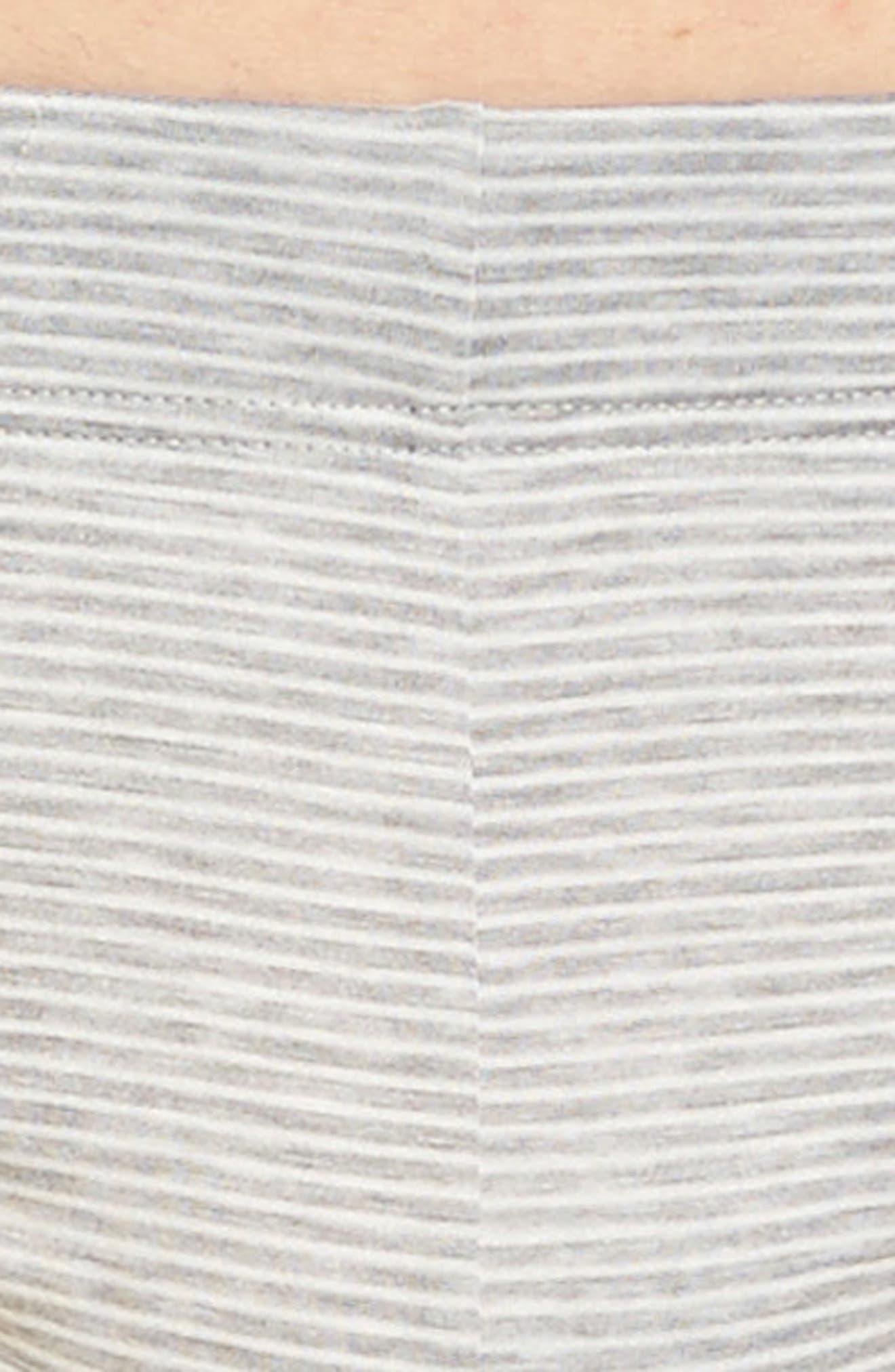 Sporty Stripe Briefs,                             Alternate thumbnail 4, color,                             Melange Stripe