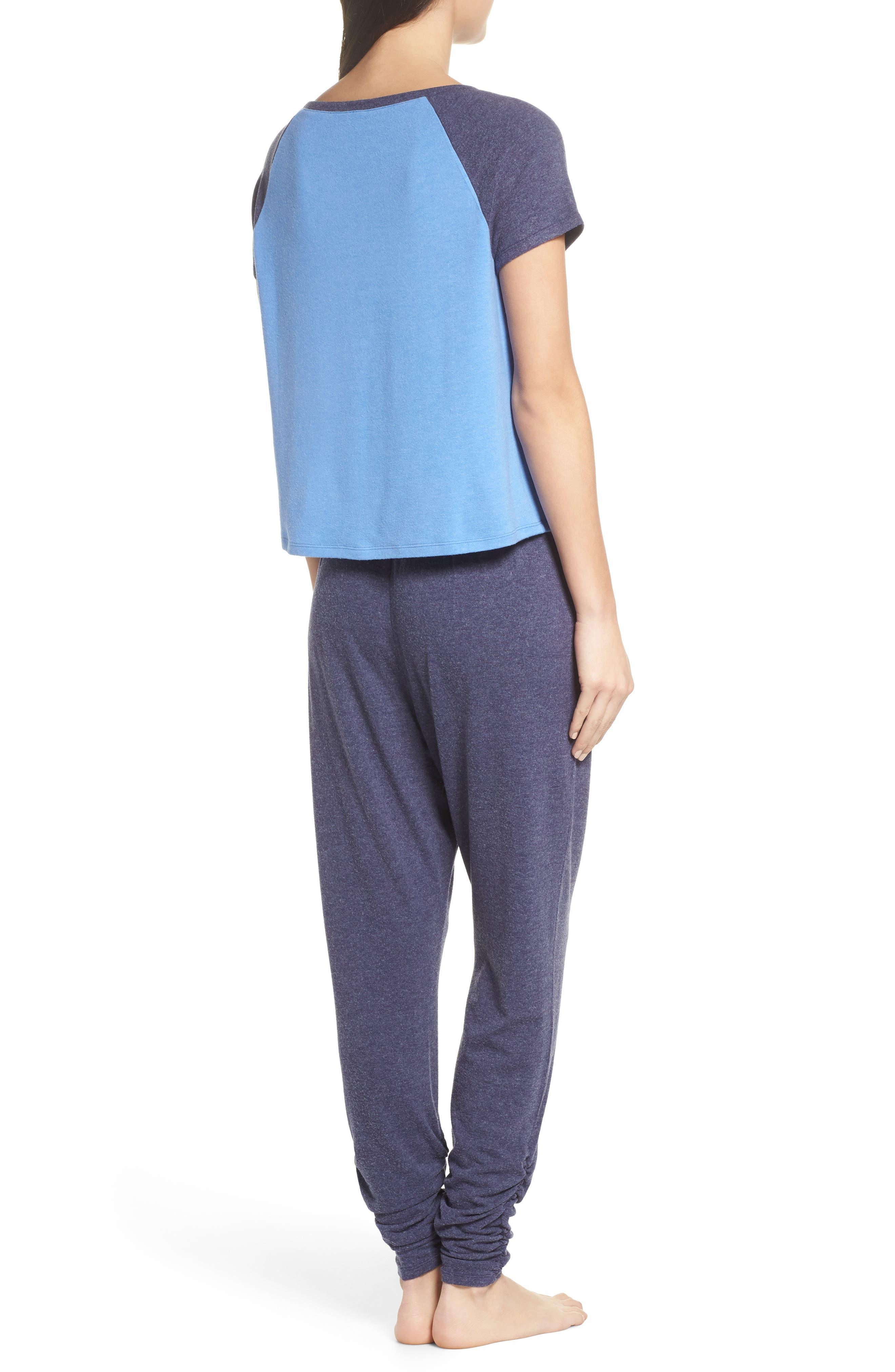 Cloud 9 Pajamas,                             Alternate thumbnail 2, color,                             Blue Azurite