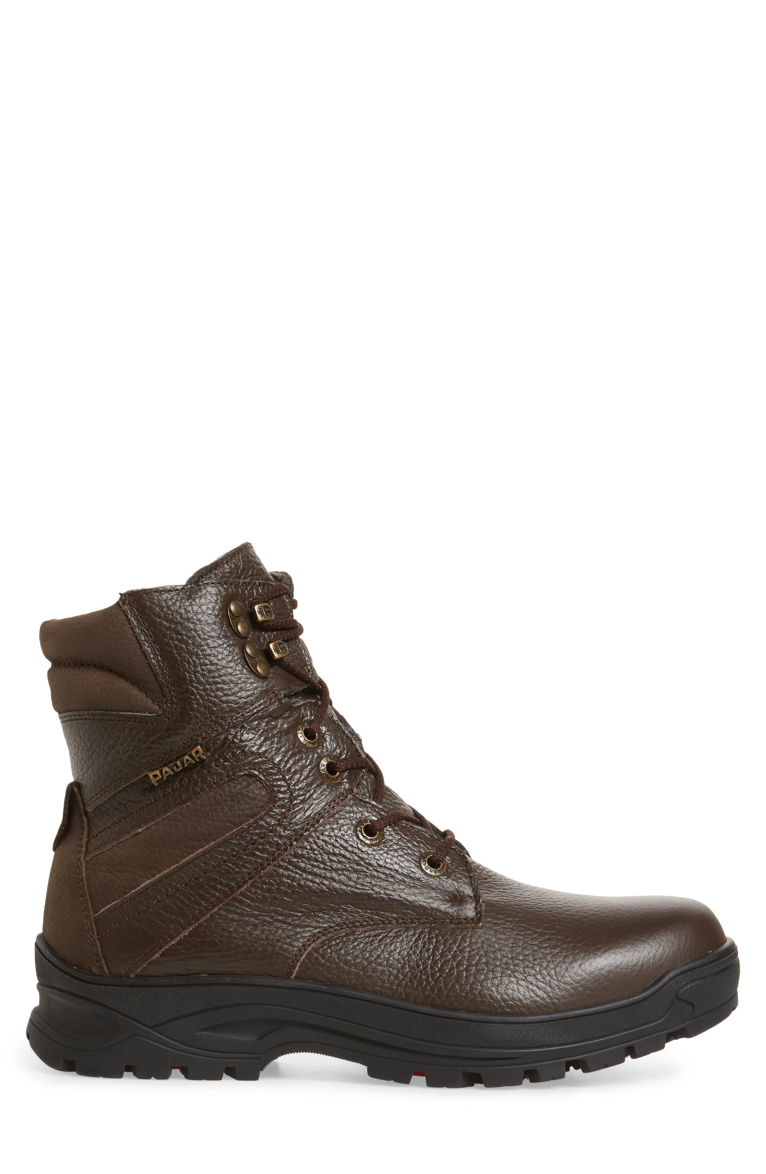 Alternate Image 3  - Pajar Harry Genuine Shearling Lined Plain Toe Boot (men)