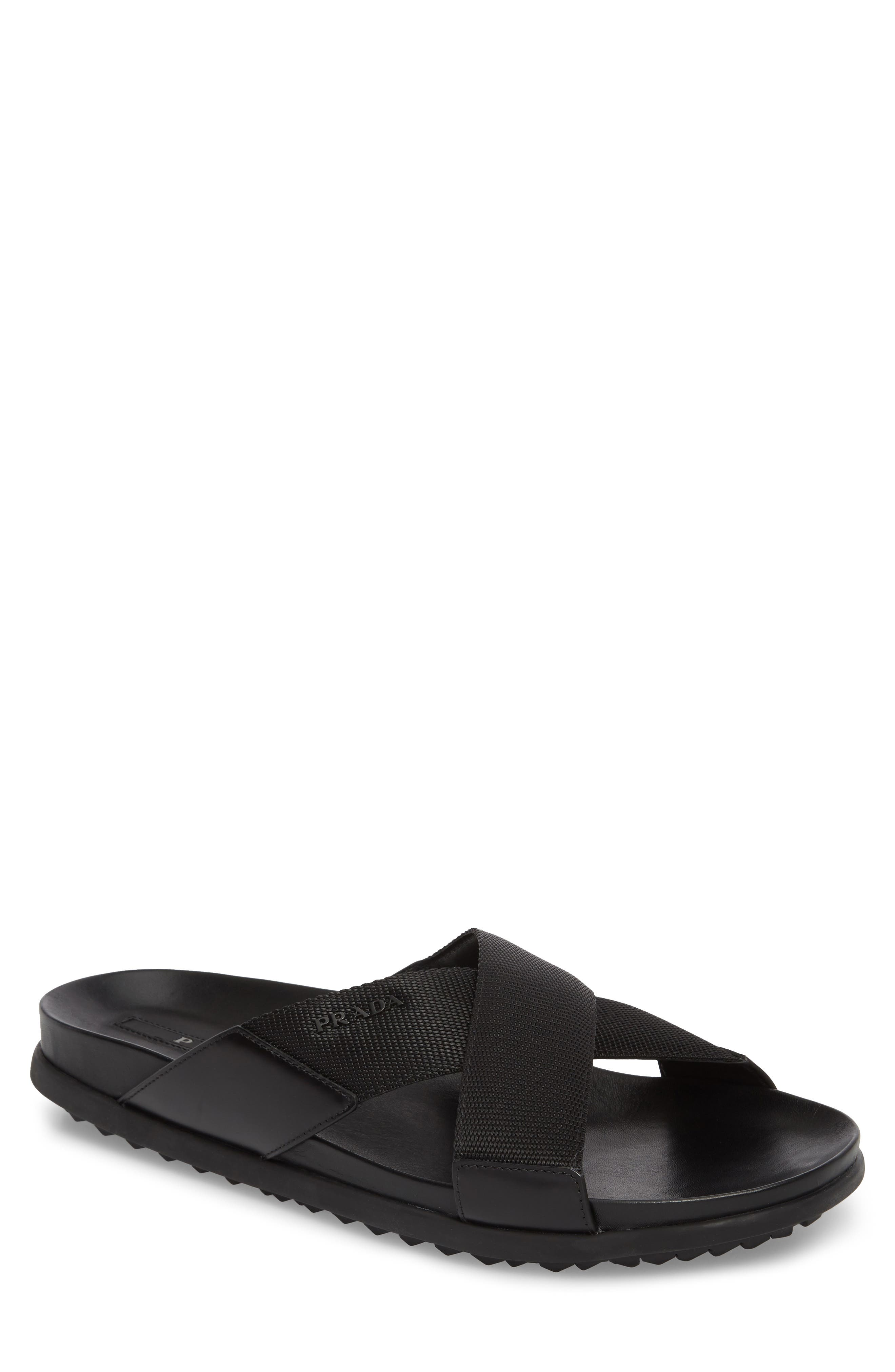 Alternate Image 1 Selected - Prada Linea Rossa Slide Sandal (Men)