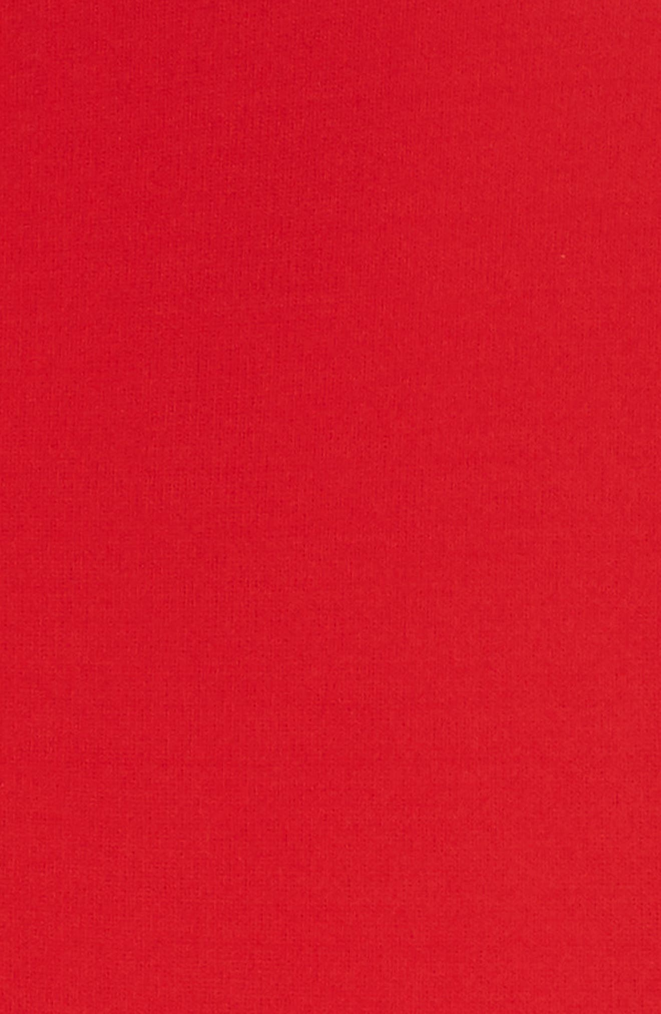 Pigna Swing Dress,                             Alternate thumbnail 5, color,                             Red
