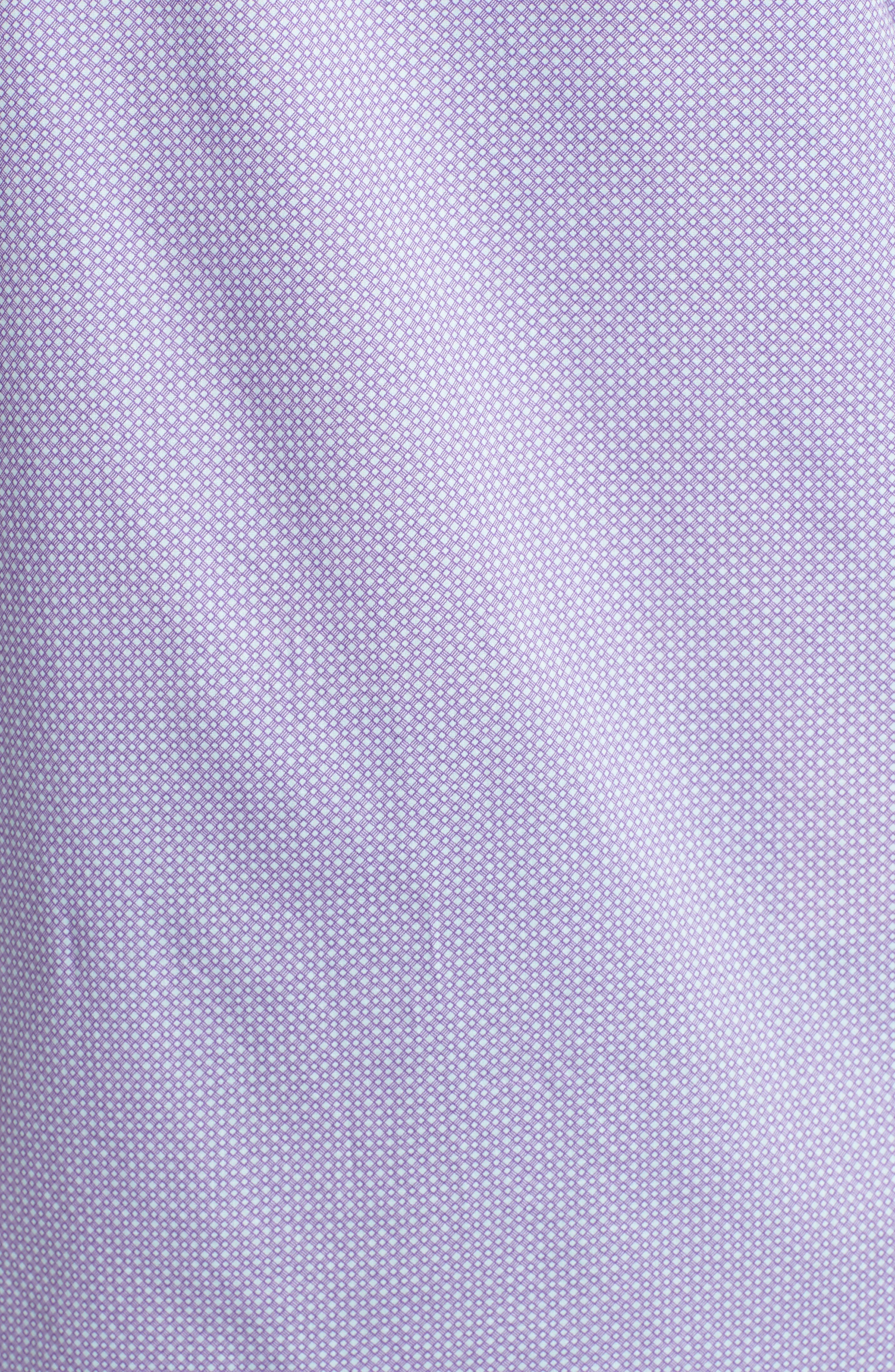 O'Malley Circle Print Sport Shirt,                             Alternate thumbnail 5, color,                             Purple