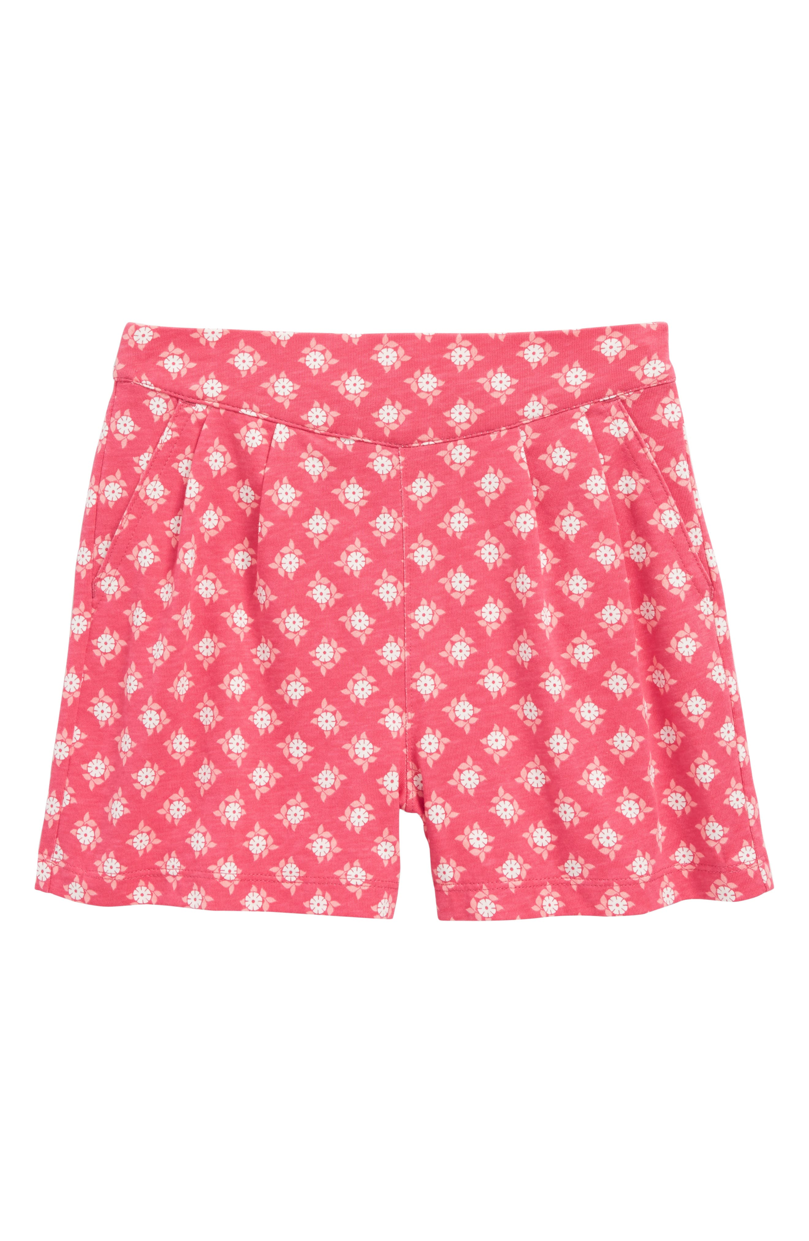 Main Image - Tea Collection Sunburst Deck Shorts (Toddler Girls, Little Girls & Big Girls)