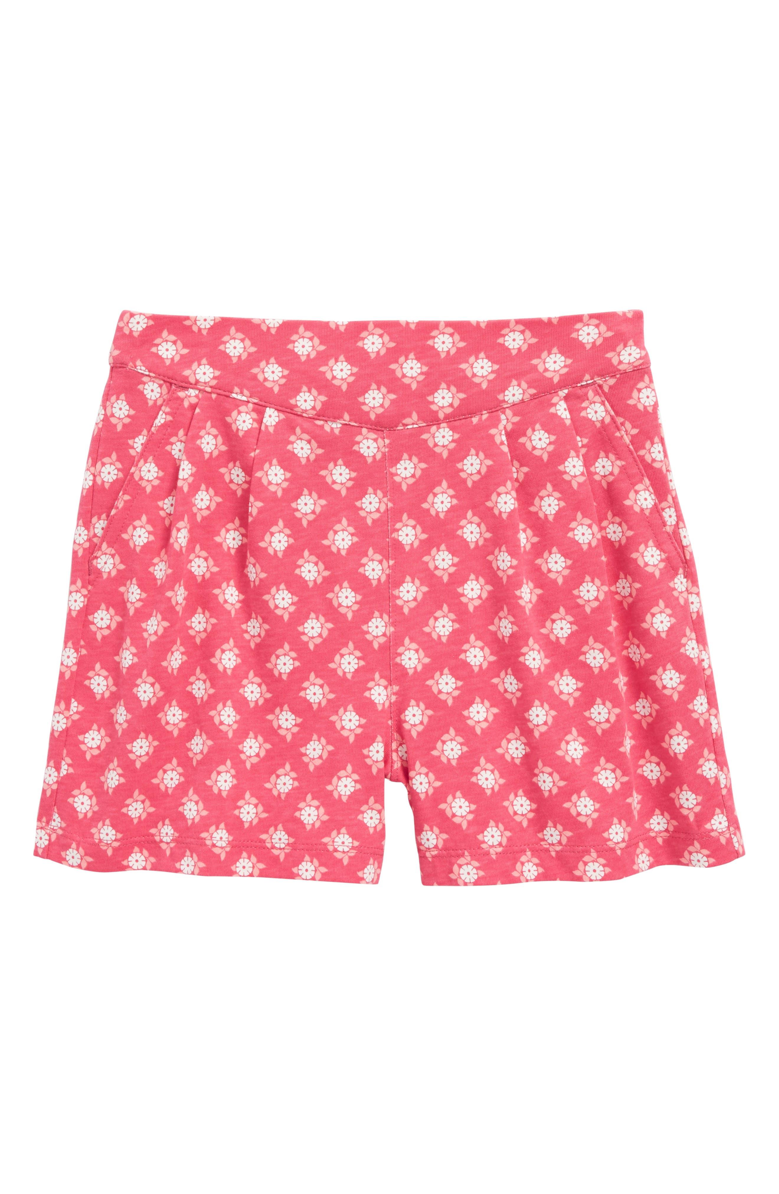 Sunburst Deck Shorts,                         Main,                         color, Azalea