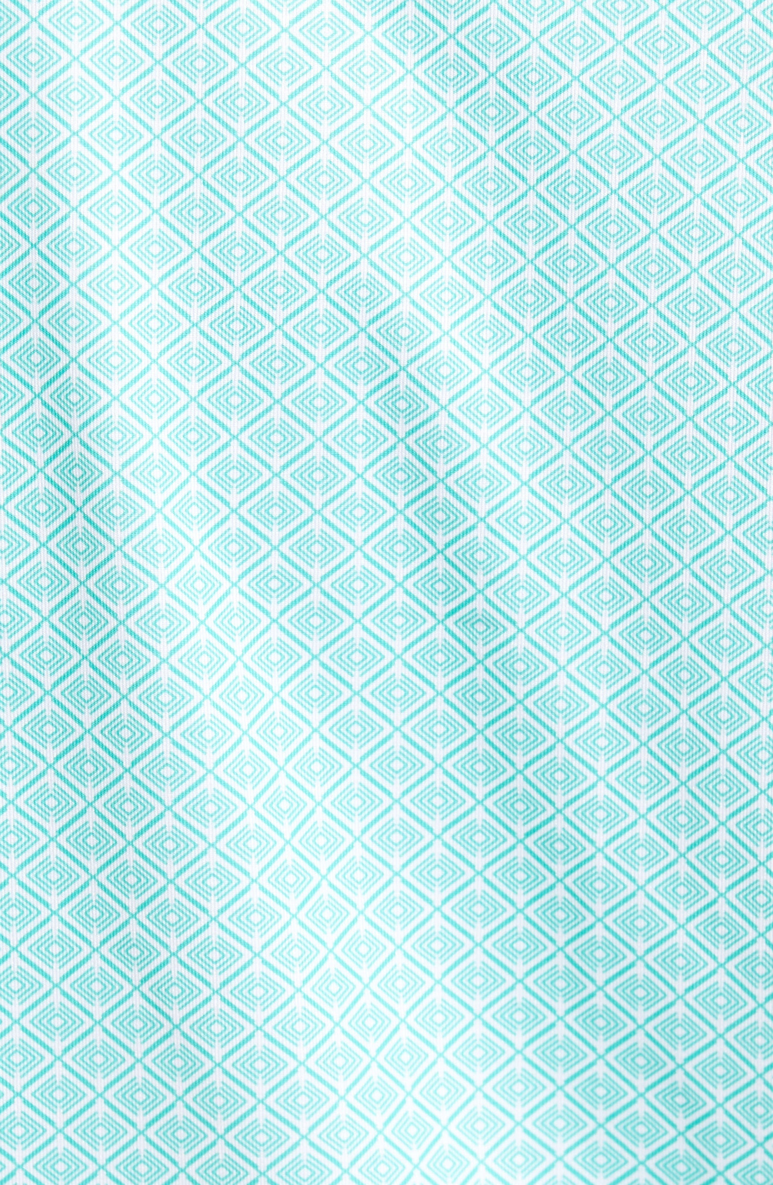 Diamond Print DryTec Polo,                             Alternate thumbnail 5, color,                             Newport
