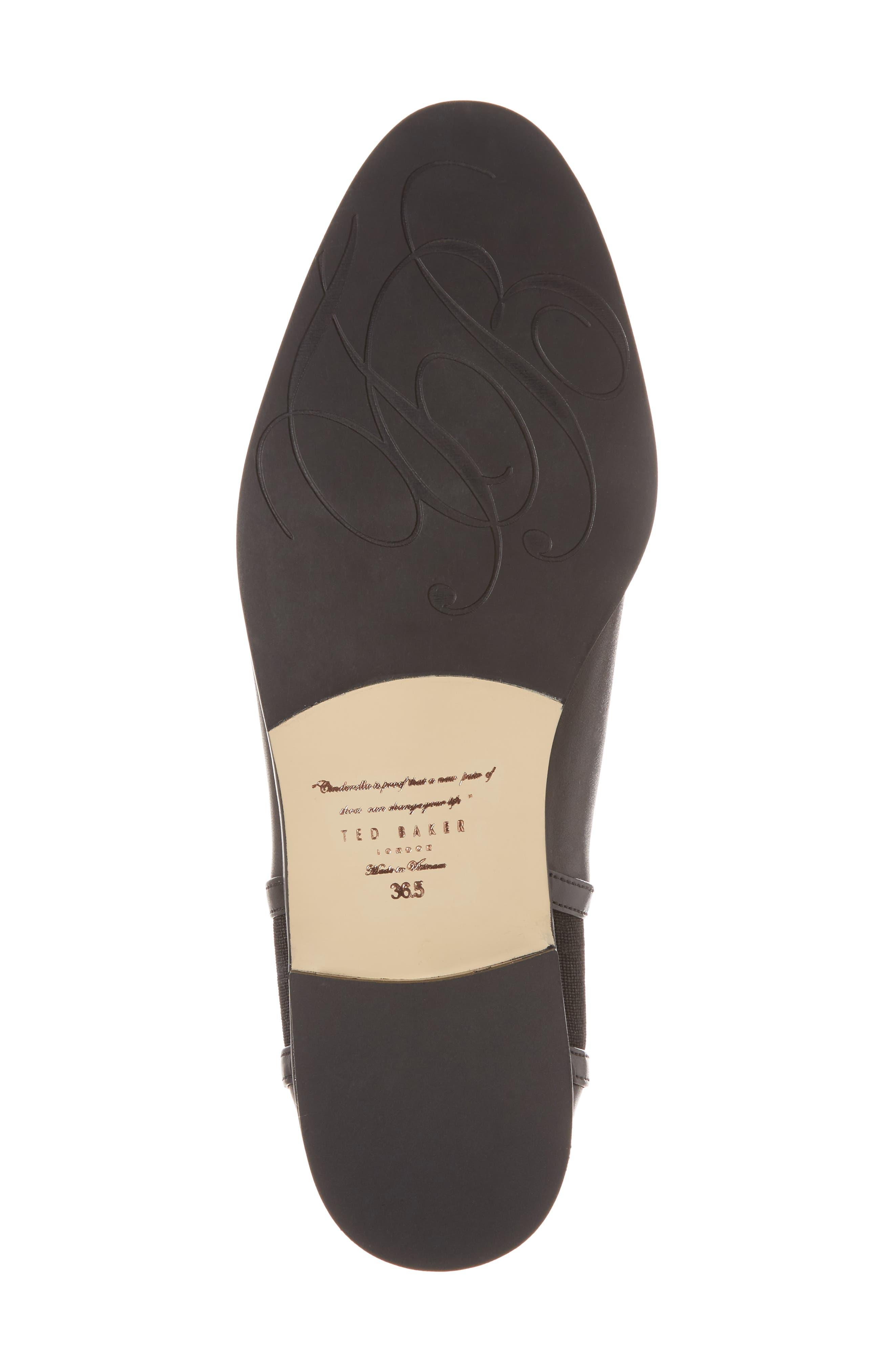 Kerei Chelsea Boot,                             Alternate thumbnail 6, color,                             Black Leather