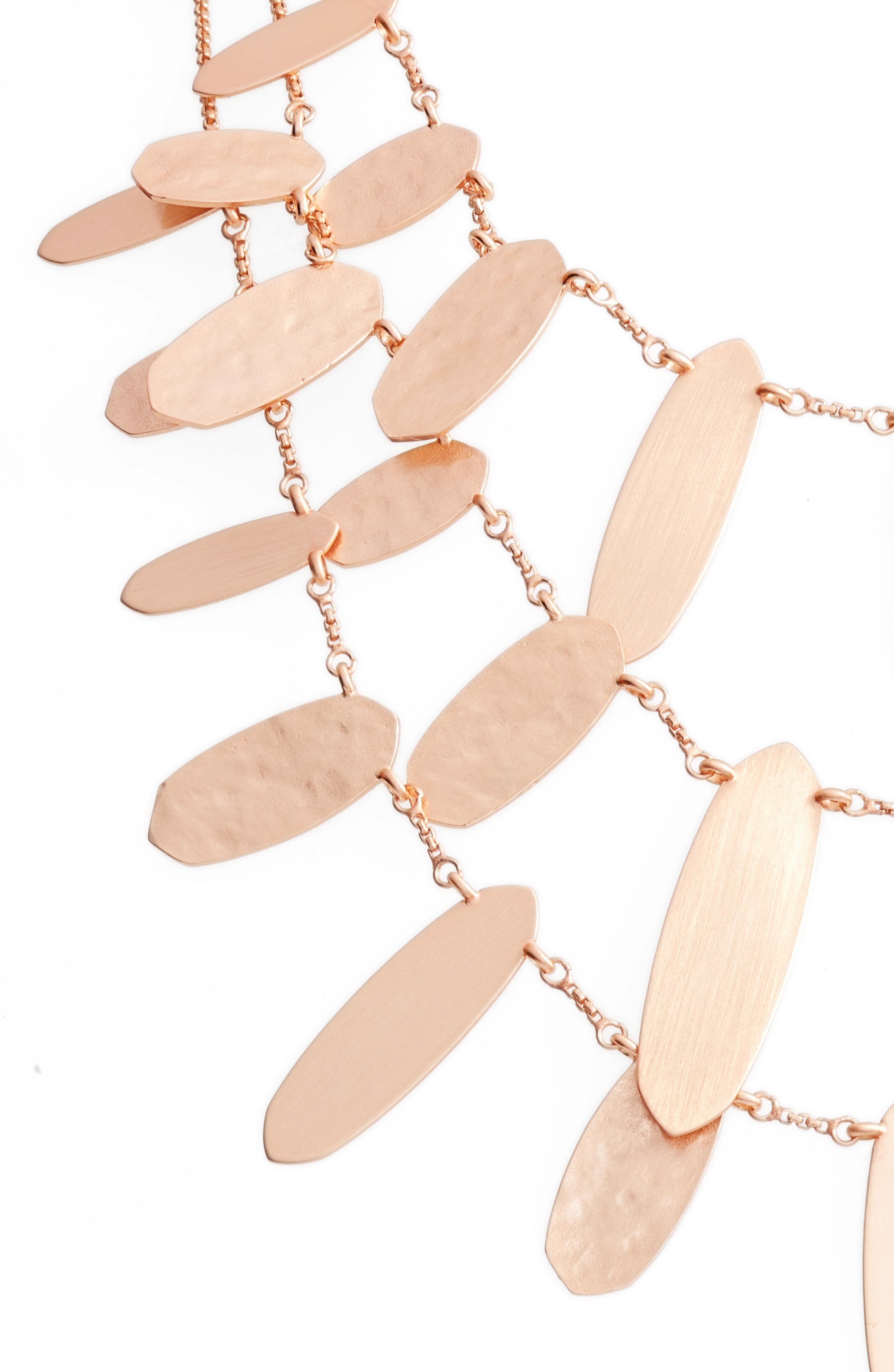 Nettie Multistrand Necklace,                             Alternate thumbnail 2, color,                             Rose Gold