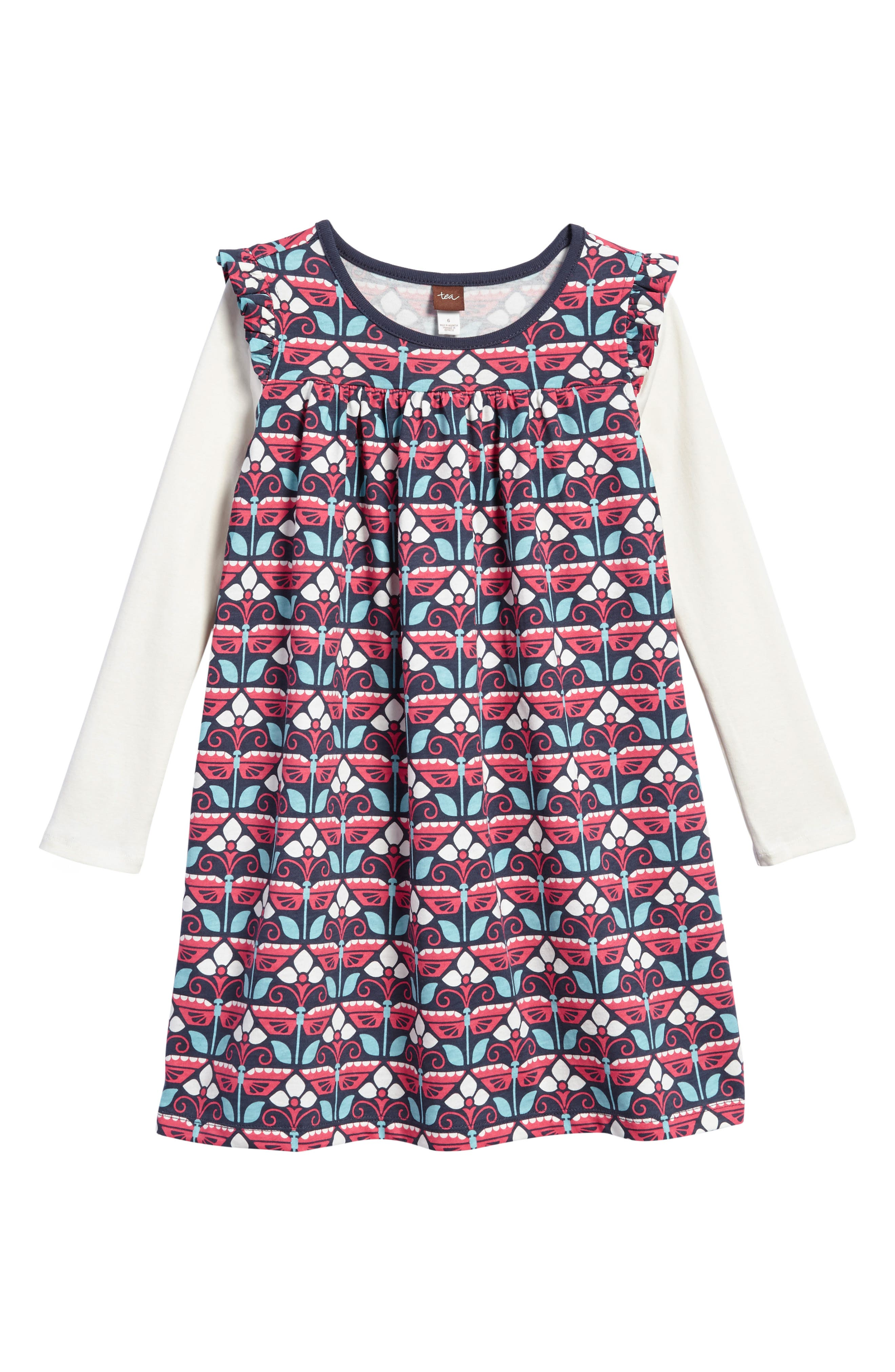 Main Image - Tea Collection Kaleidoscope Dress (Toddler Girls, Little Girls & Big Girls)