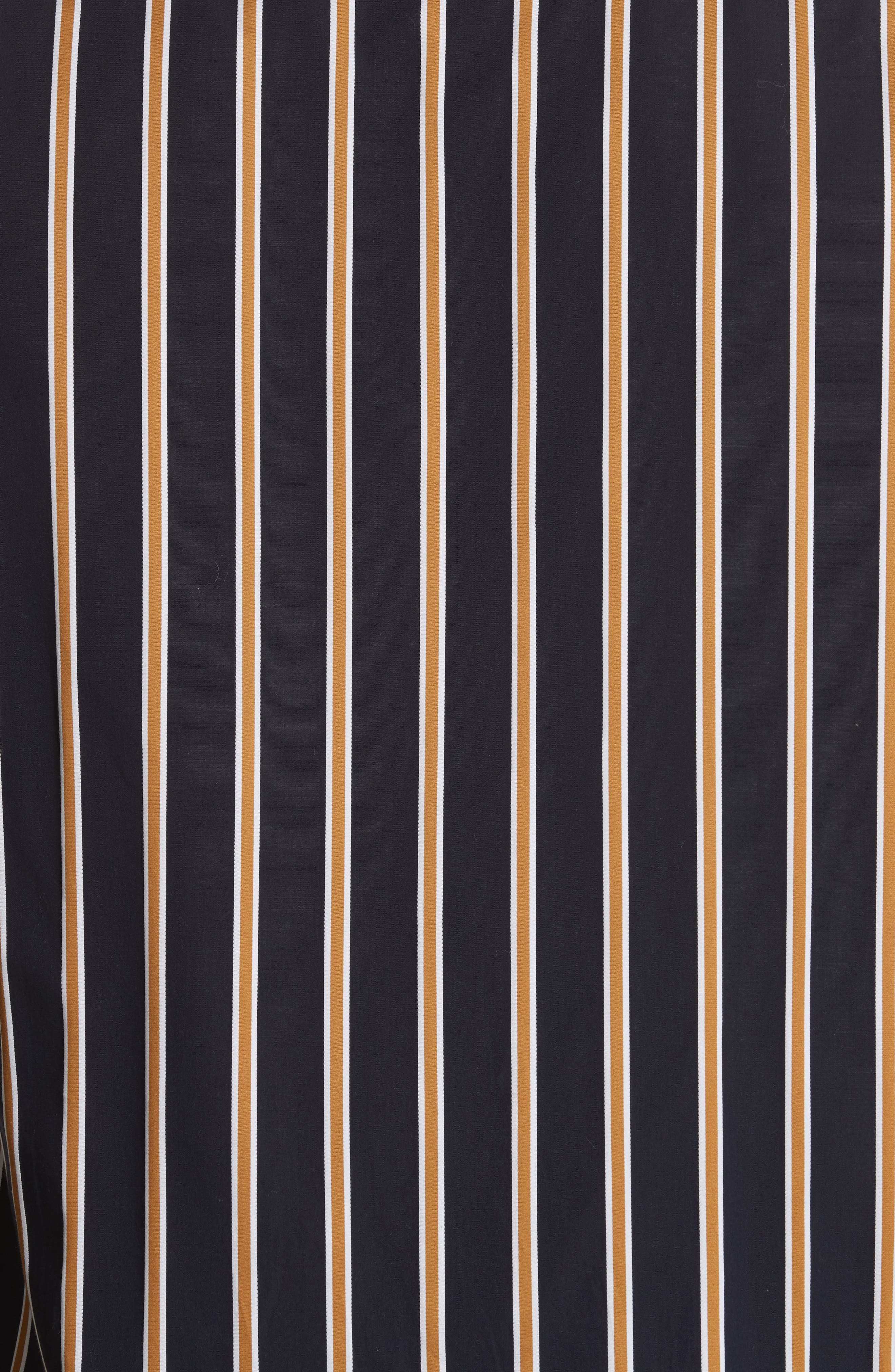 Alternate Image 5  - Saturdays NYC Crosby Satin Stripe Shirt