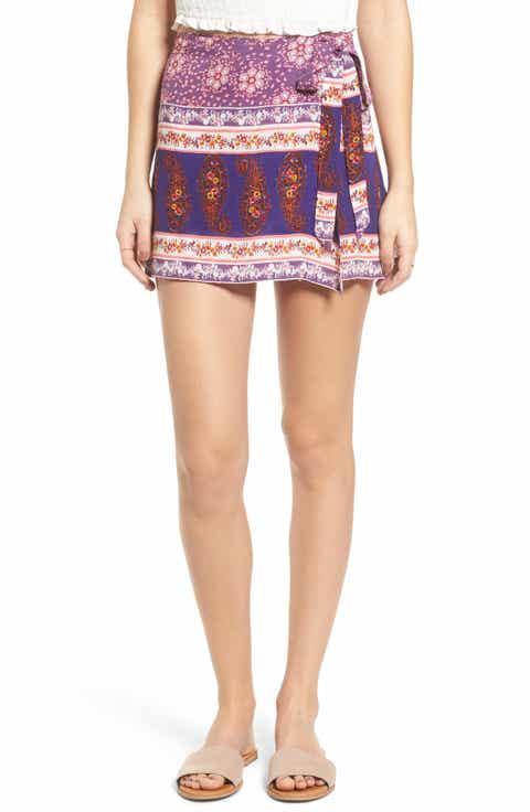 Raga Dana Floral Wrap Skirt