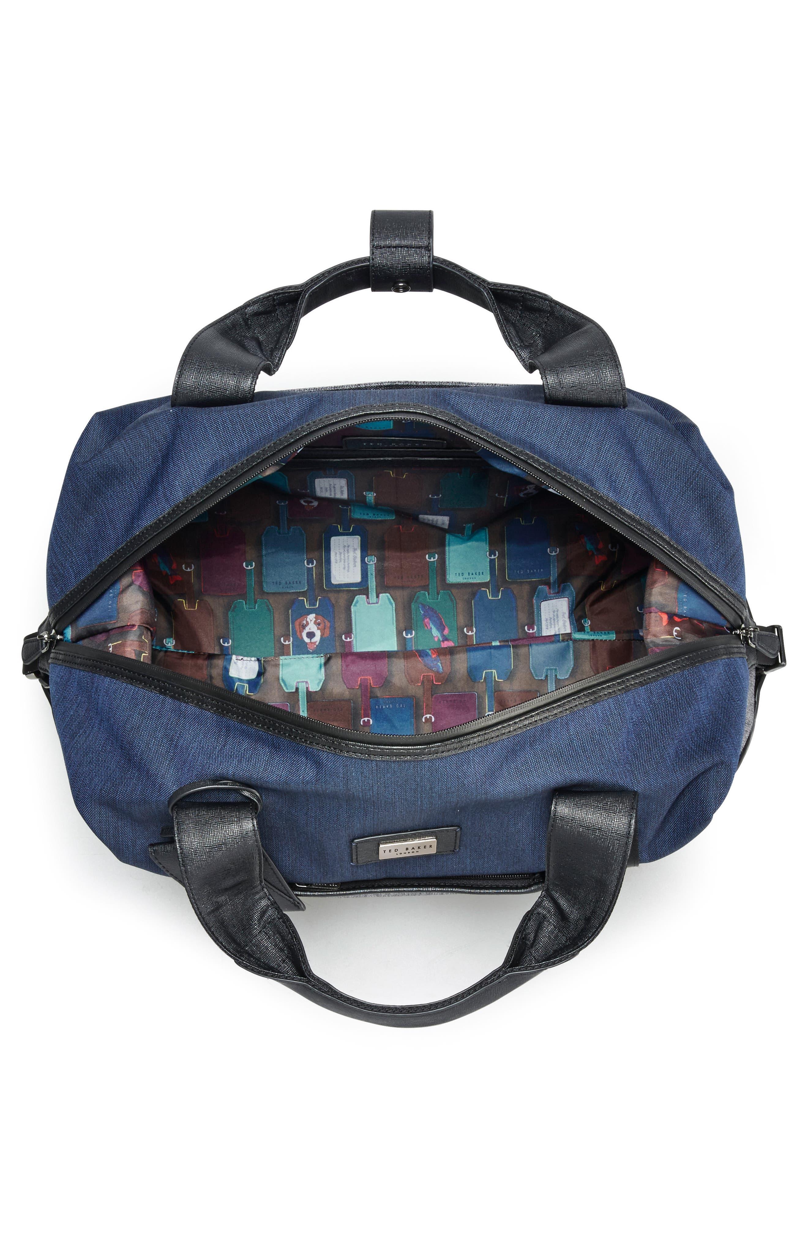 Alternate Image 2  - Ted Baker London Small Brunswick Water Resistant Duffel Bag