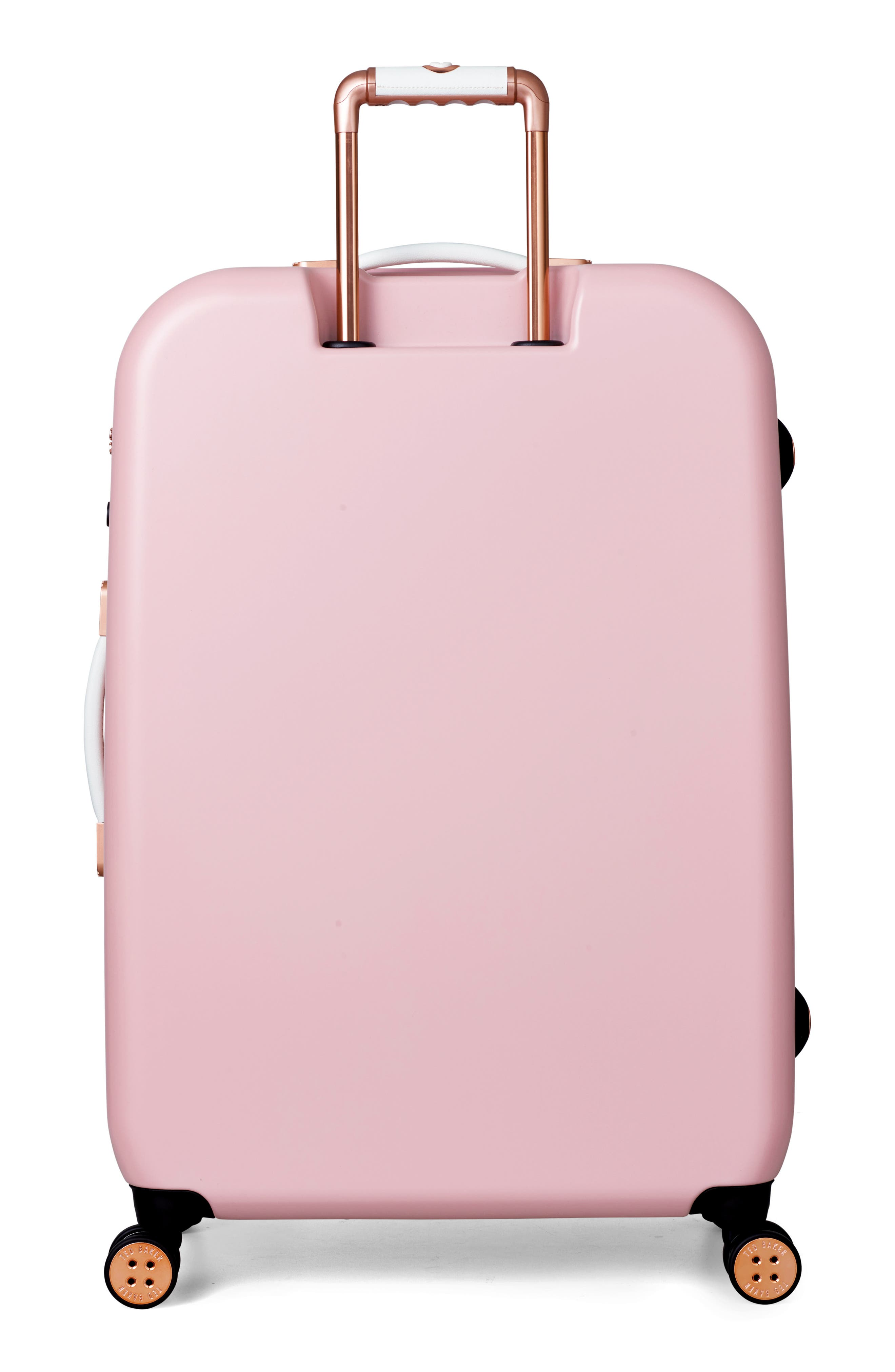 Alternate Image 4  - Ted Baker London Large Beau Bow Embossed Four-Wheel 31-Inch Trolley Suitcase