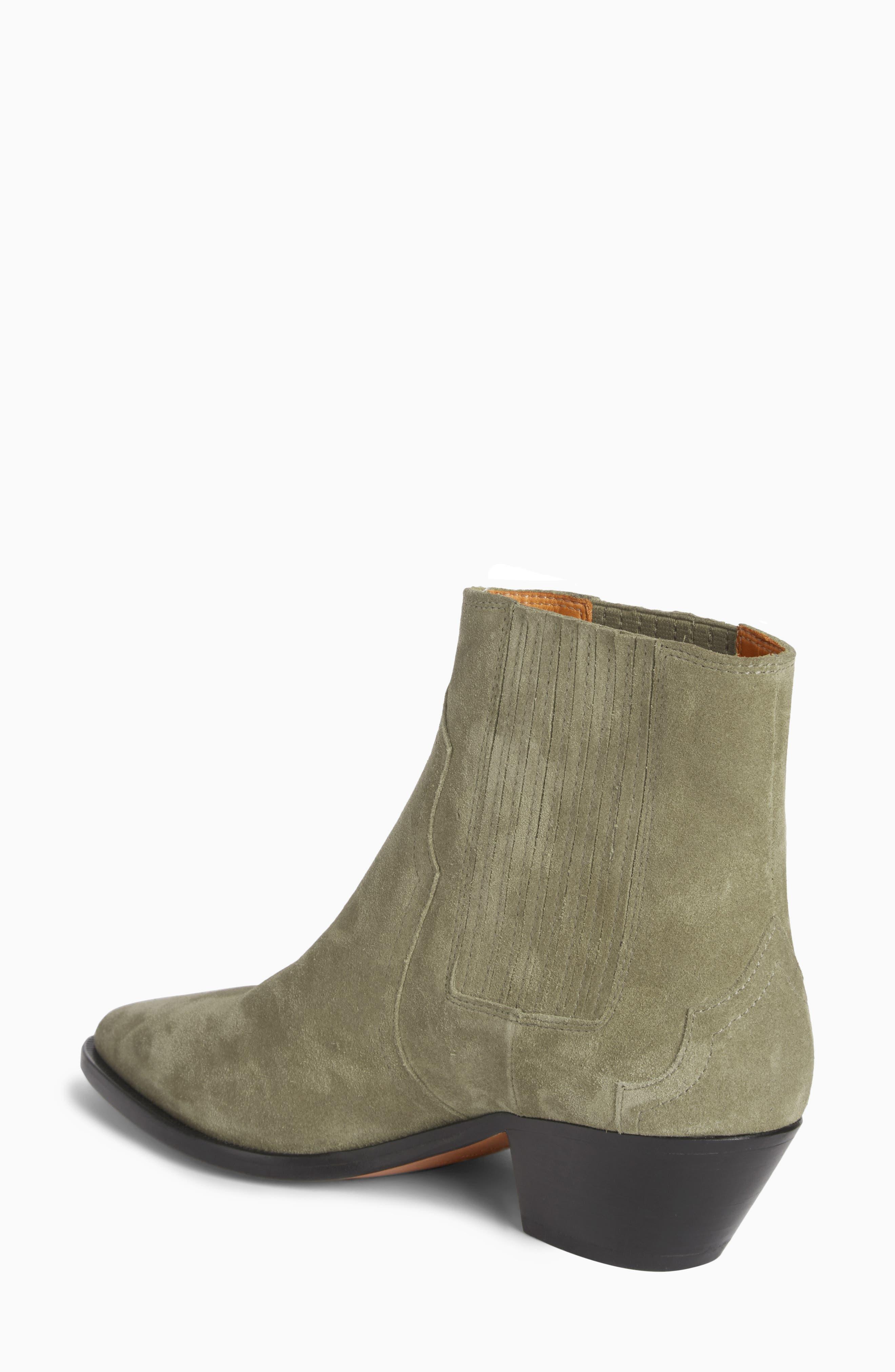 Derlyn Pointy Toe Boot,                             Alternate thumbnail 2, color,                             Khaki