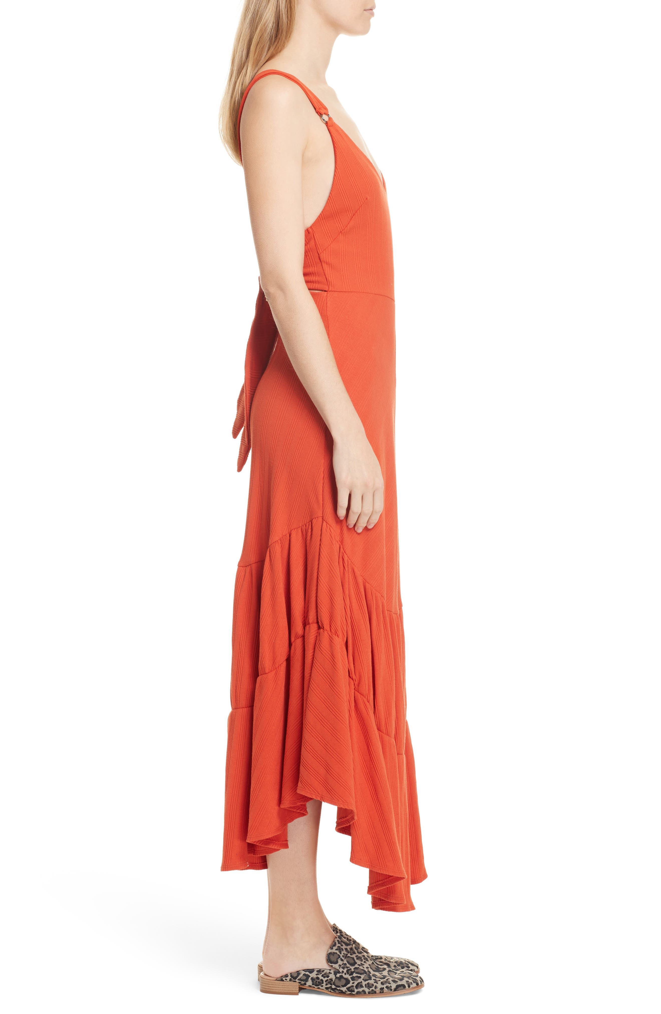 Into You Maxi,                             Alternate thumbnail 3, color,                             Red