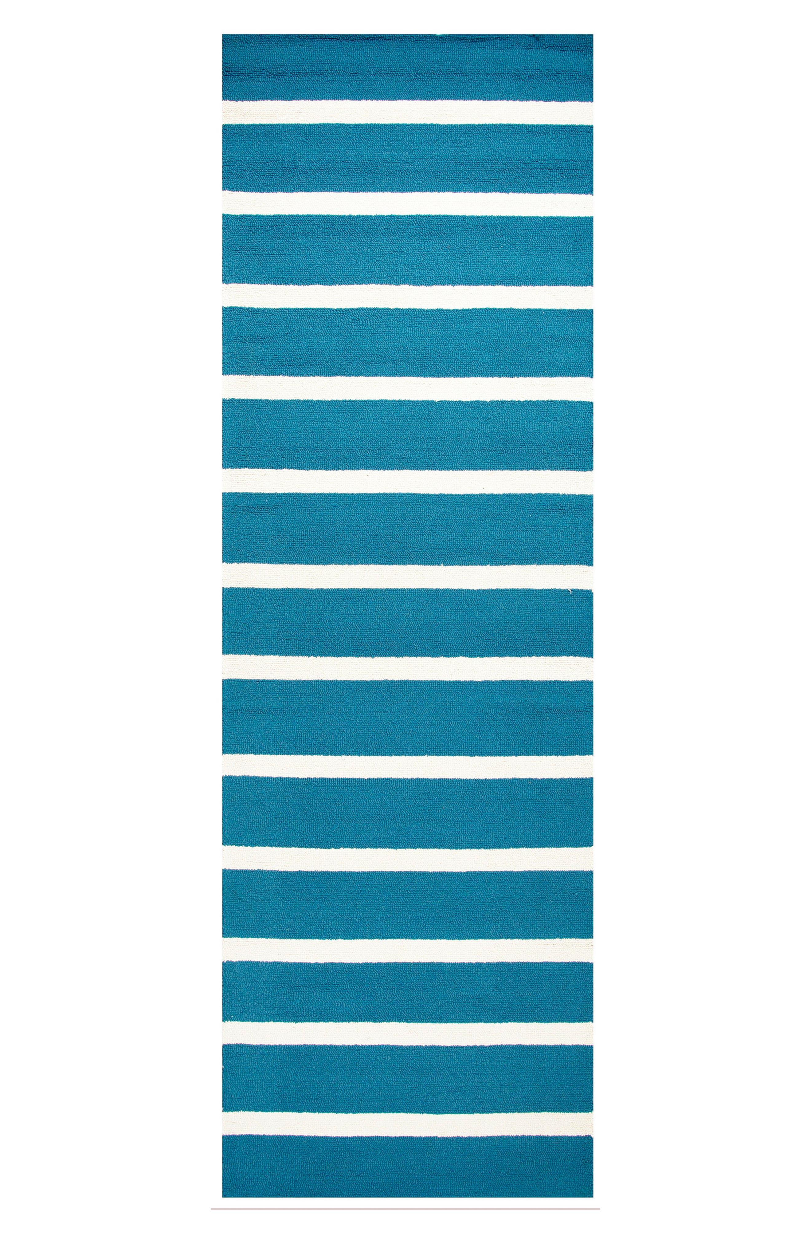 Azzura Hill Jenny Hand Tufted Rug,                             Alternate thumbnail 3, color,                             Marine Blue