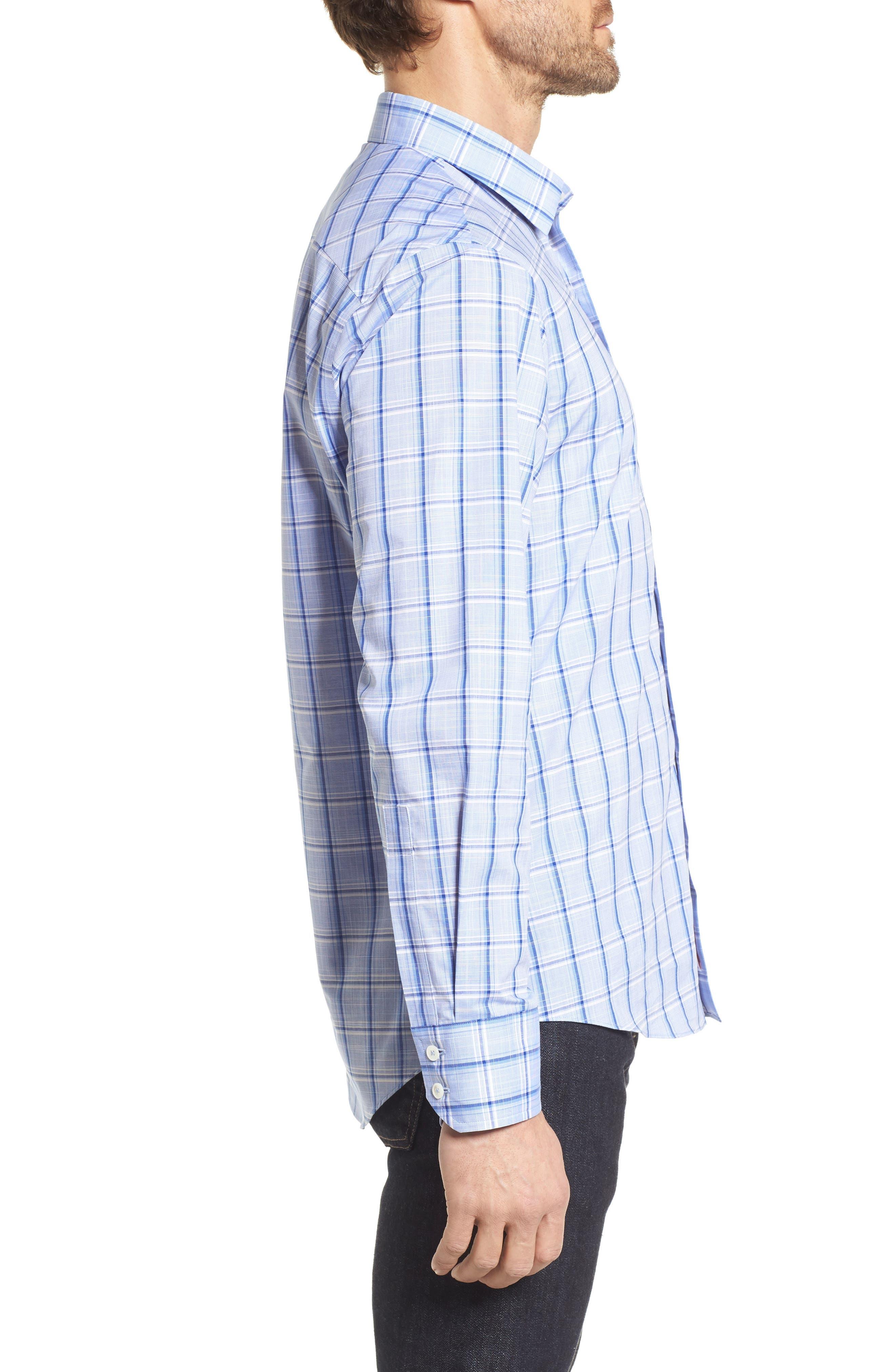 Alternate Image 3  - Zachary Prell Washington Plaid Sport Shirt