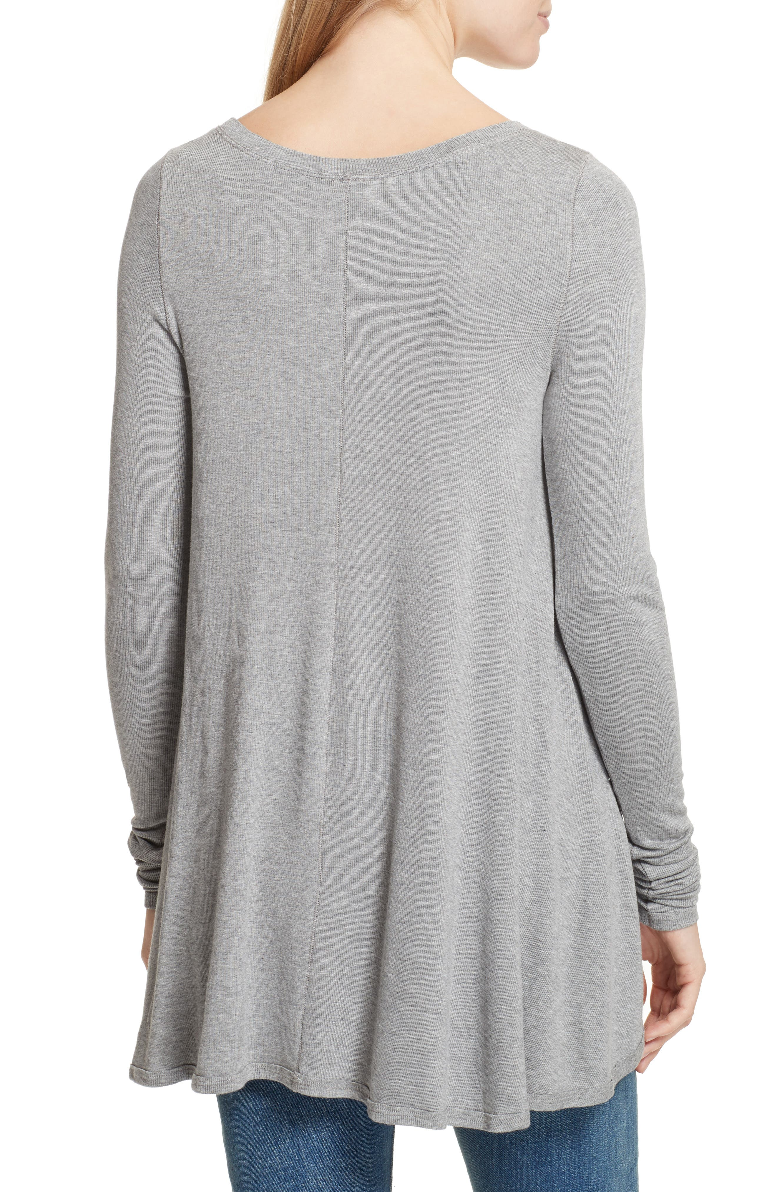 We the Free by Free People January Tee,                             Alternate thumbnail 2, color,                             Grey