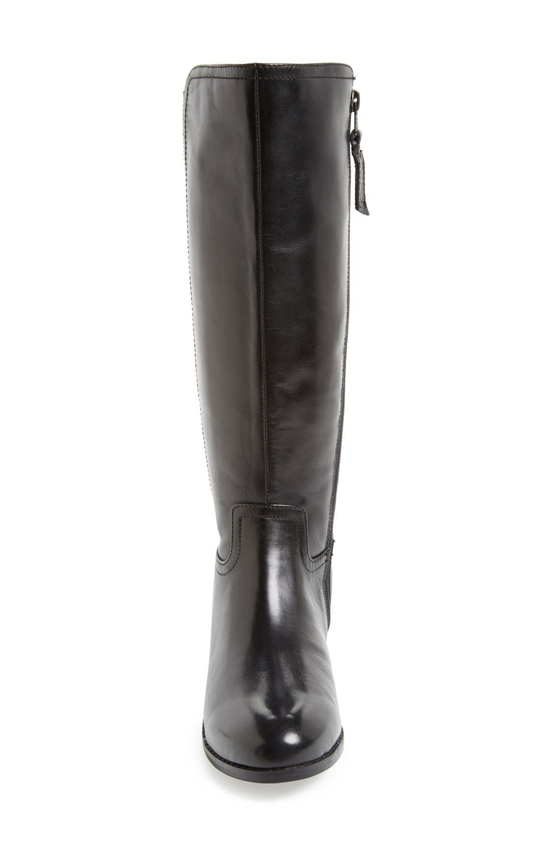 Alternate Image 3  - Trotters 'Signature Lucia' Leather Riding Boot (Wide Calf) (Women)