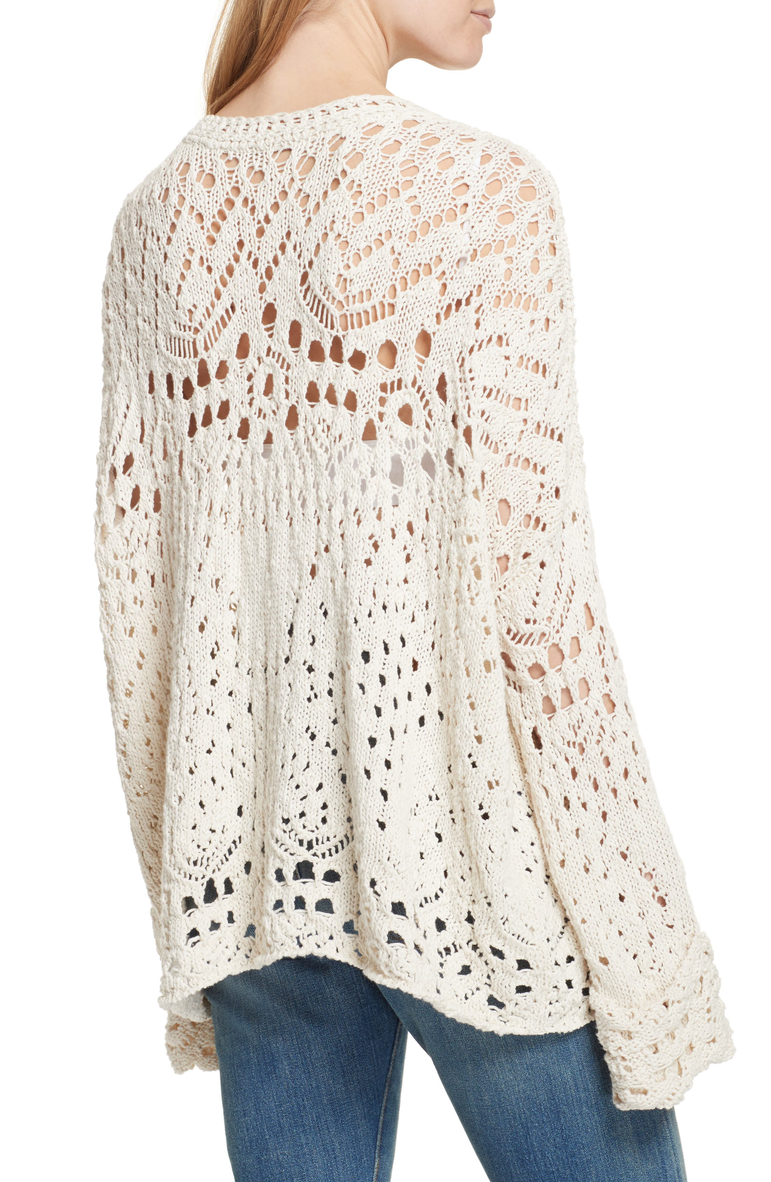 Alternate Image 2  - Free People Traveling Lace Sweater