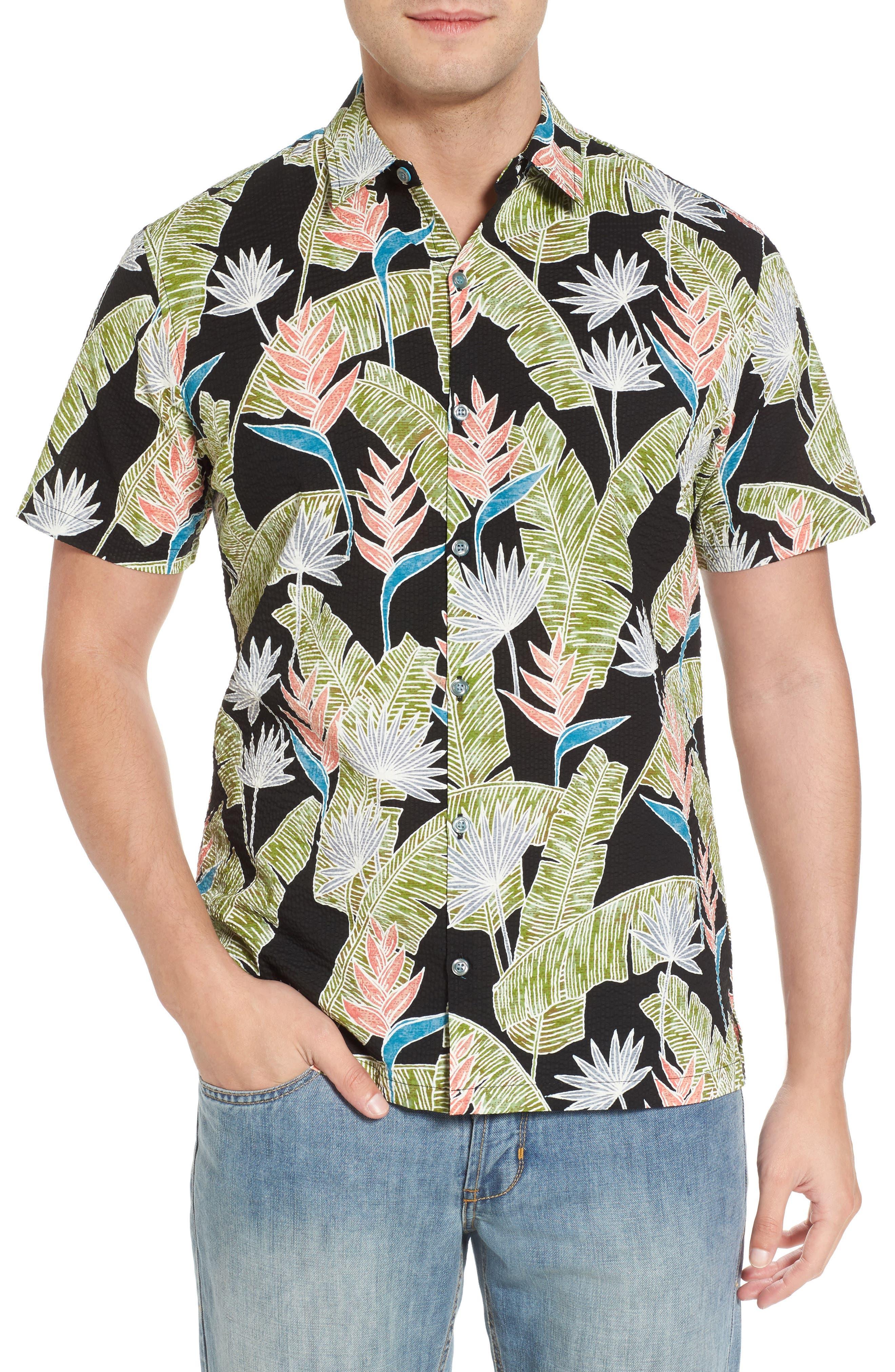 Alternate Image 1 Selected - Tori Richard Sunbird Classic Fit Print Sport Shirt
