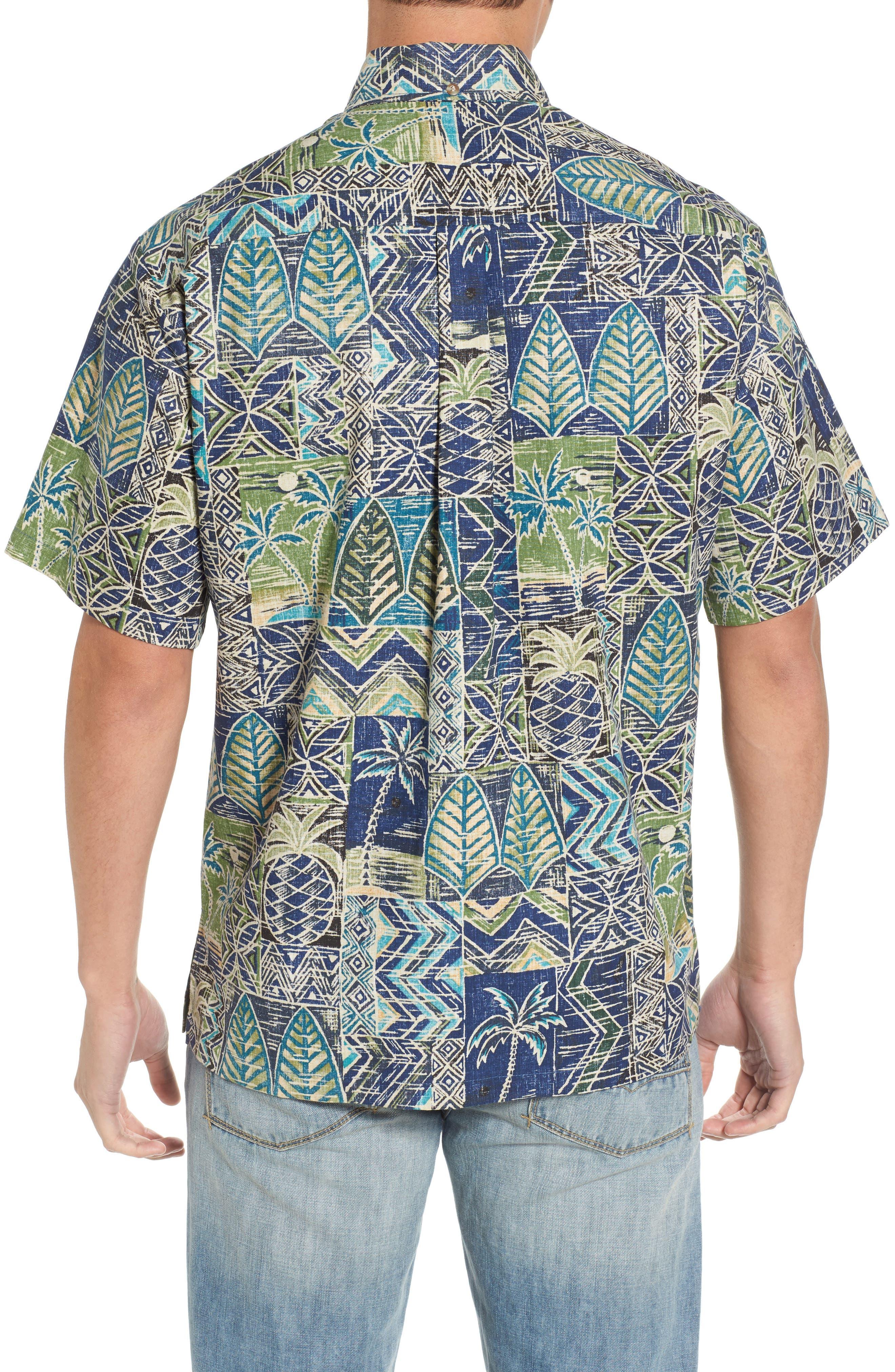Makani Classic Fit Non-Iron Sport Shirt,                             Alternate thumbnail 2, color,                             Navy