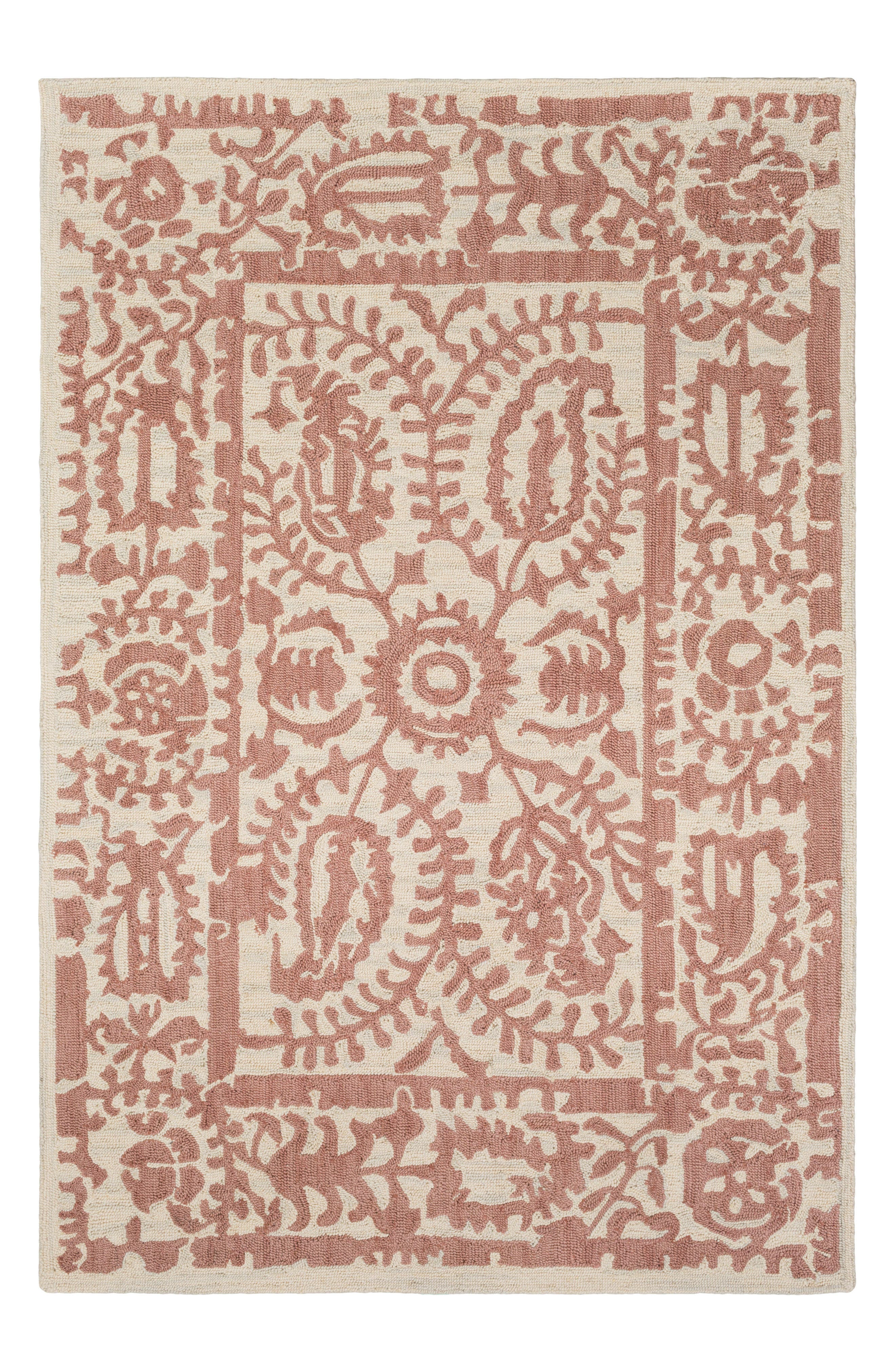 Armelle Area Rug,                         Main,                         color, Pink