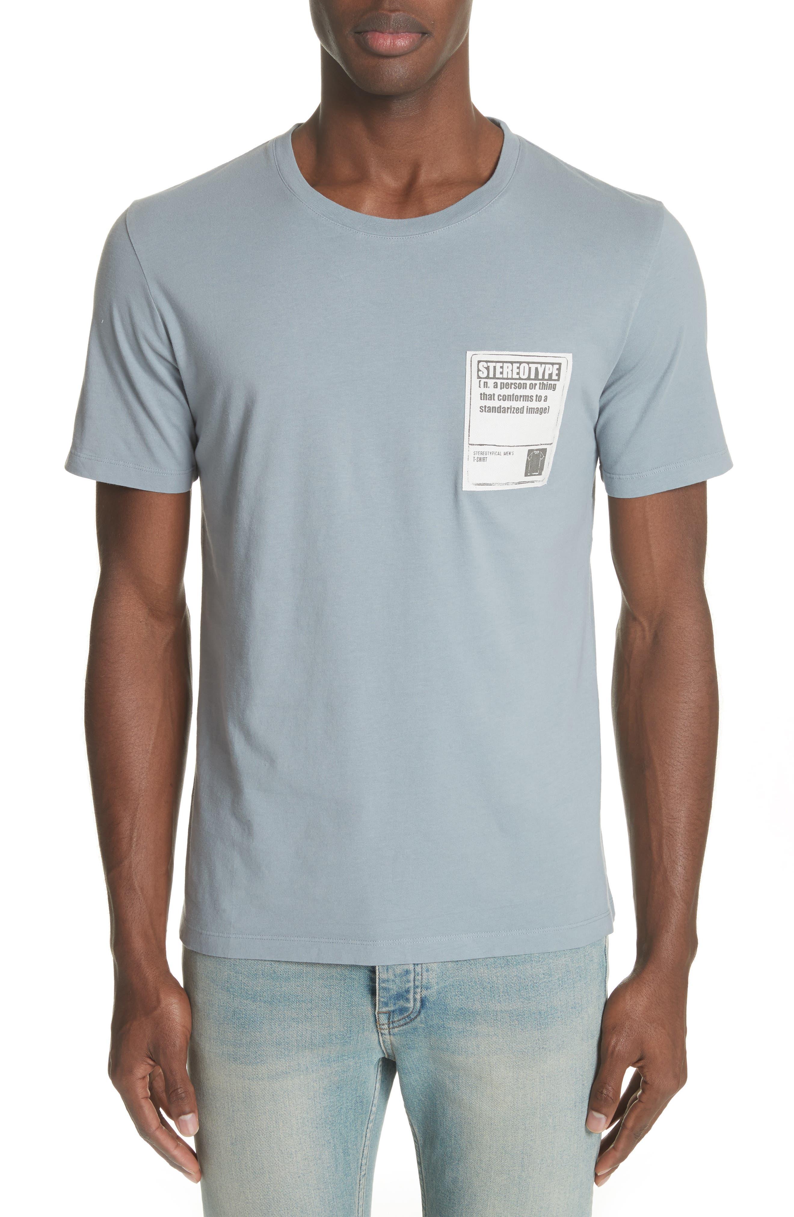 Stereotype Pocket T-Shirt,                             Main thumbnail 1, color,                             Grey