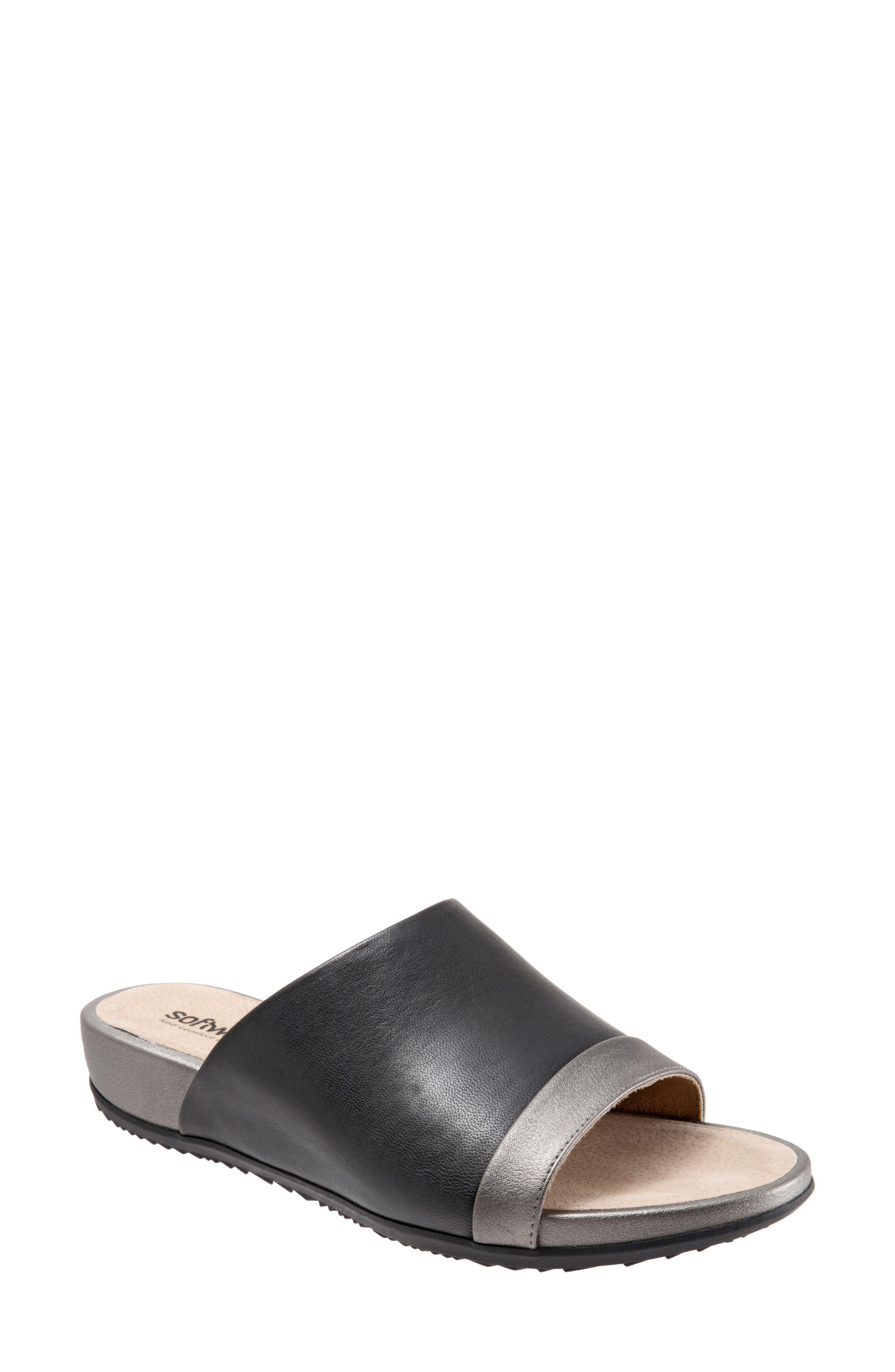SoftWalk® Del Mar Slide Sandal (Women)