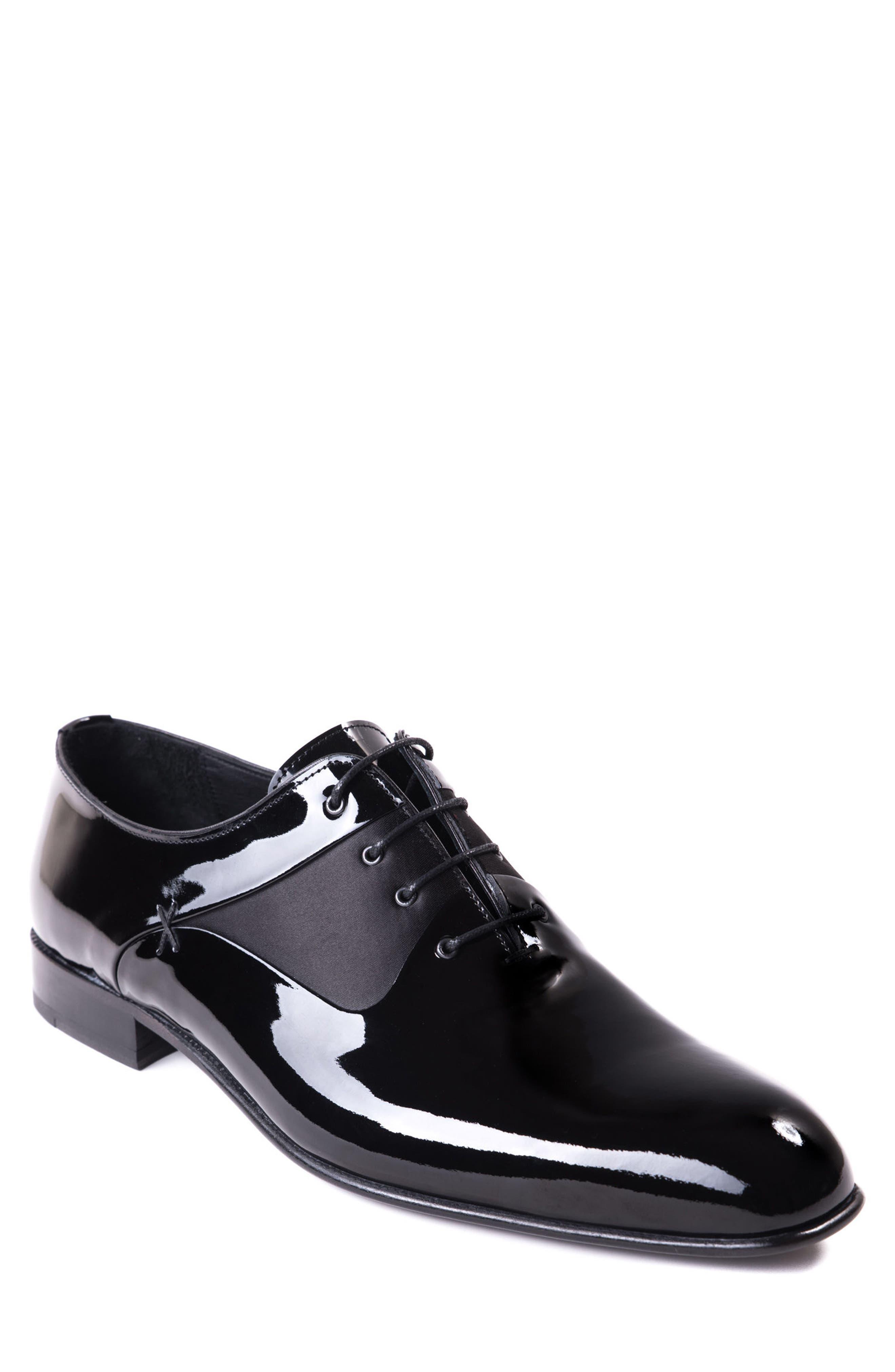 Ricci Plain Toe Oxford,                         Main,                         color, Black