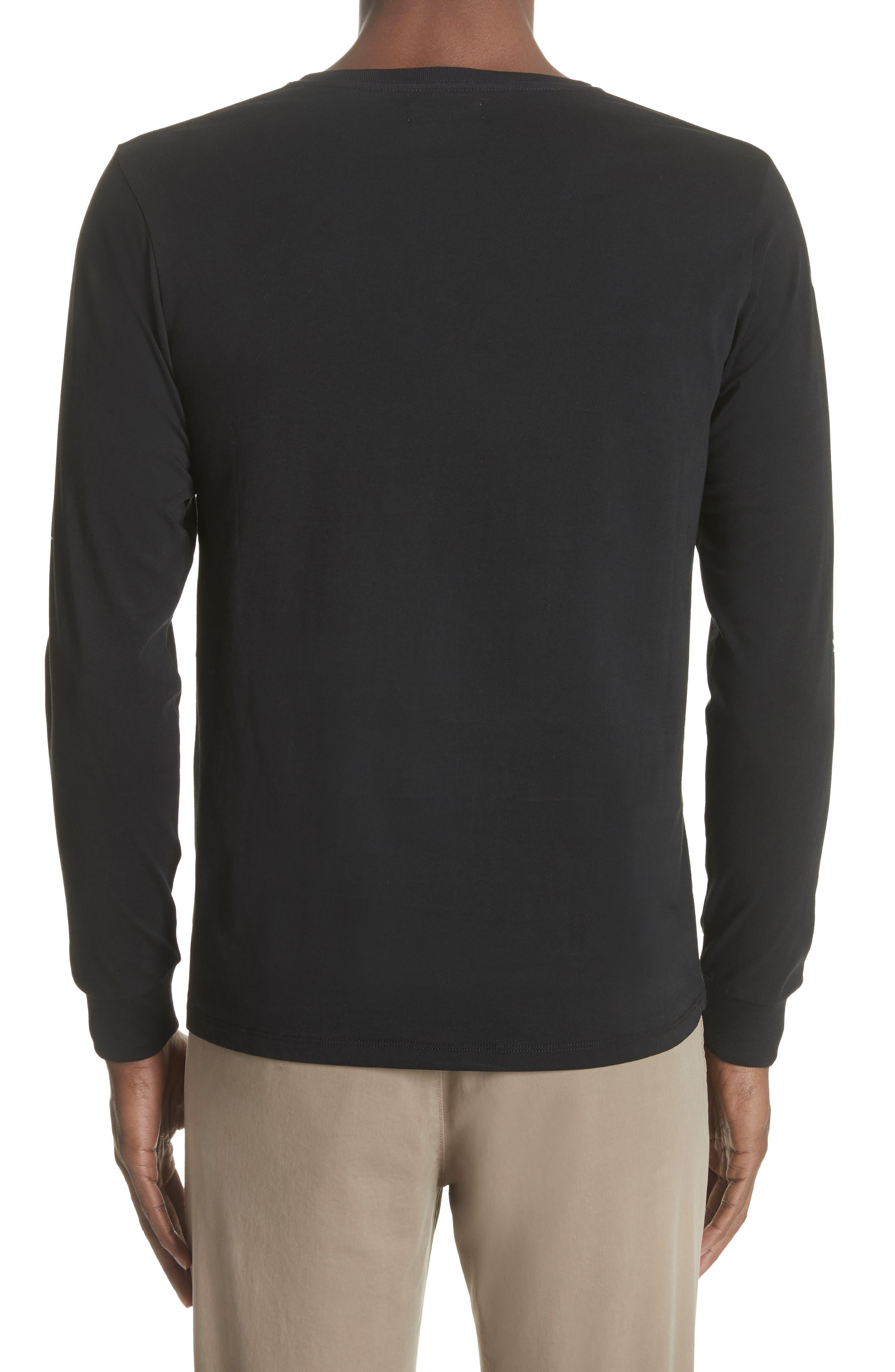 Alternate Image 2  - Saturdays NYC Reverse Print Long Sleeve T-Shirt