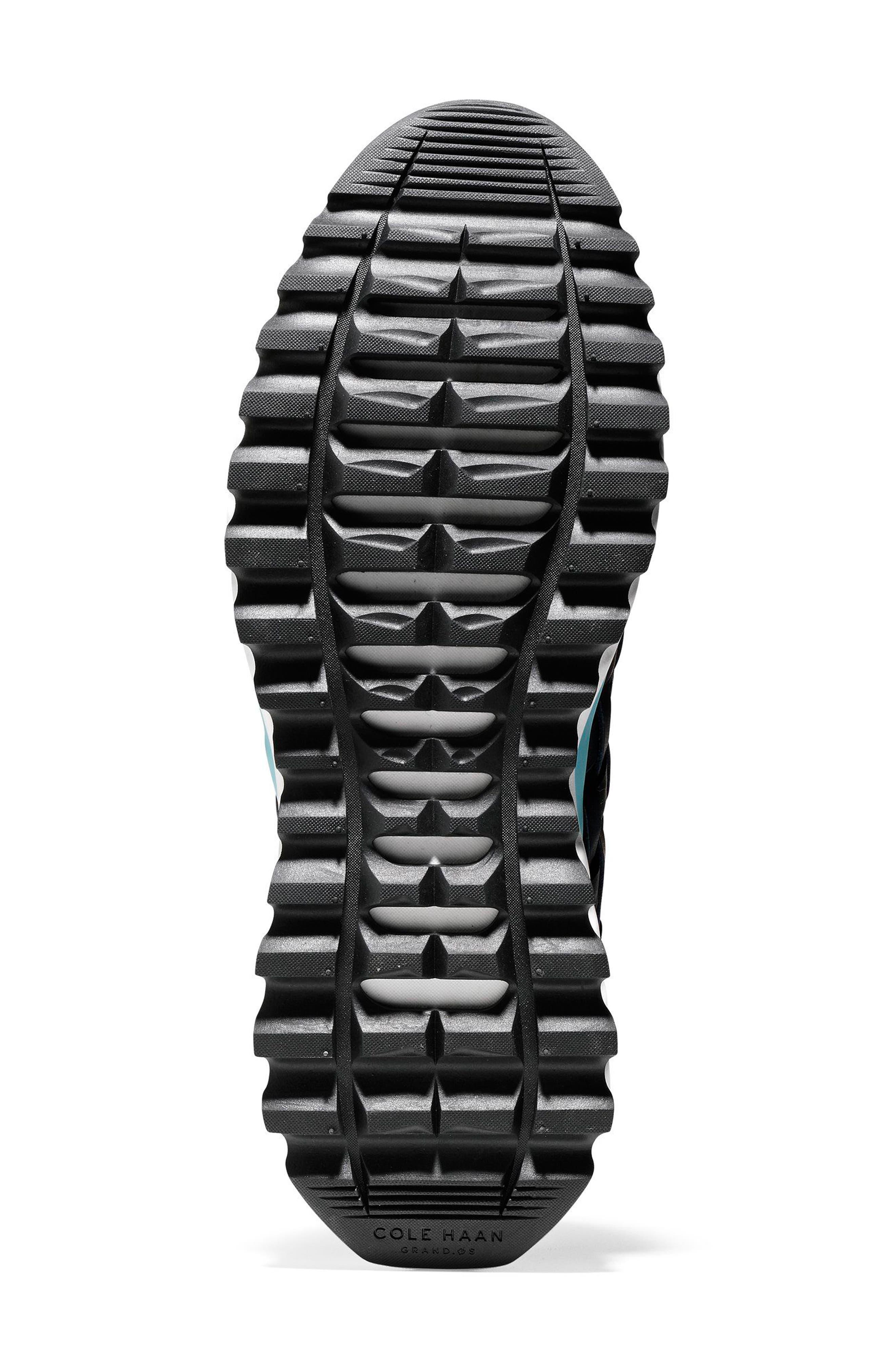 GrandExplore All Terrain Woven Sneaker,                             Alternate thumbnail 6, color,                             Marine Blue/Optic White/Black
