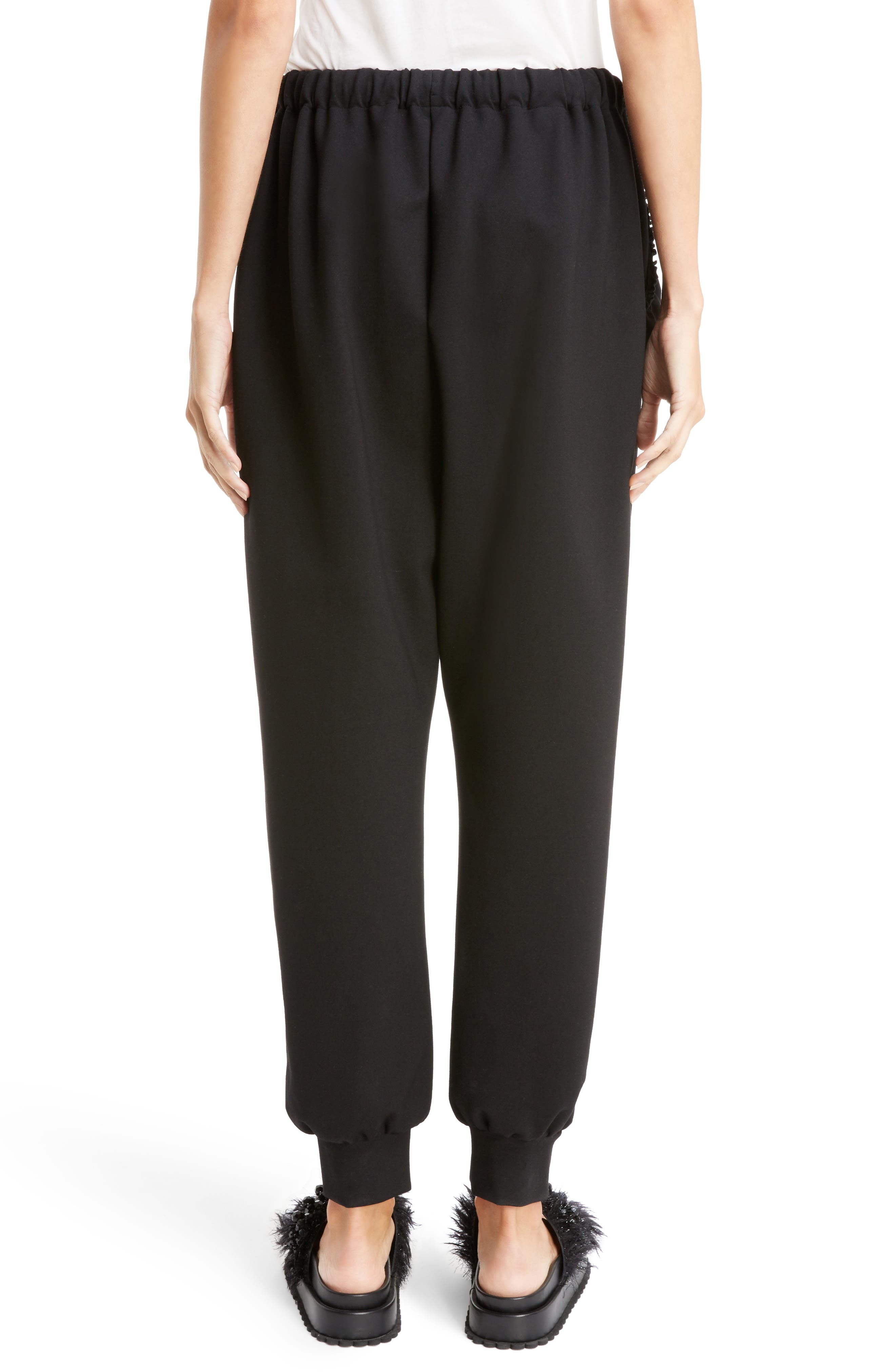 Alternate Image 6  - Simone Rocha Ruffle Embellished Jogging Pants