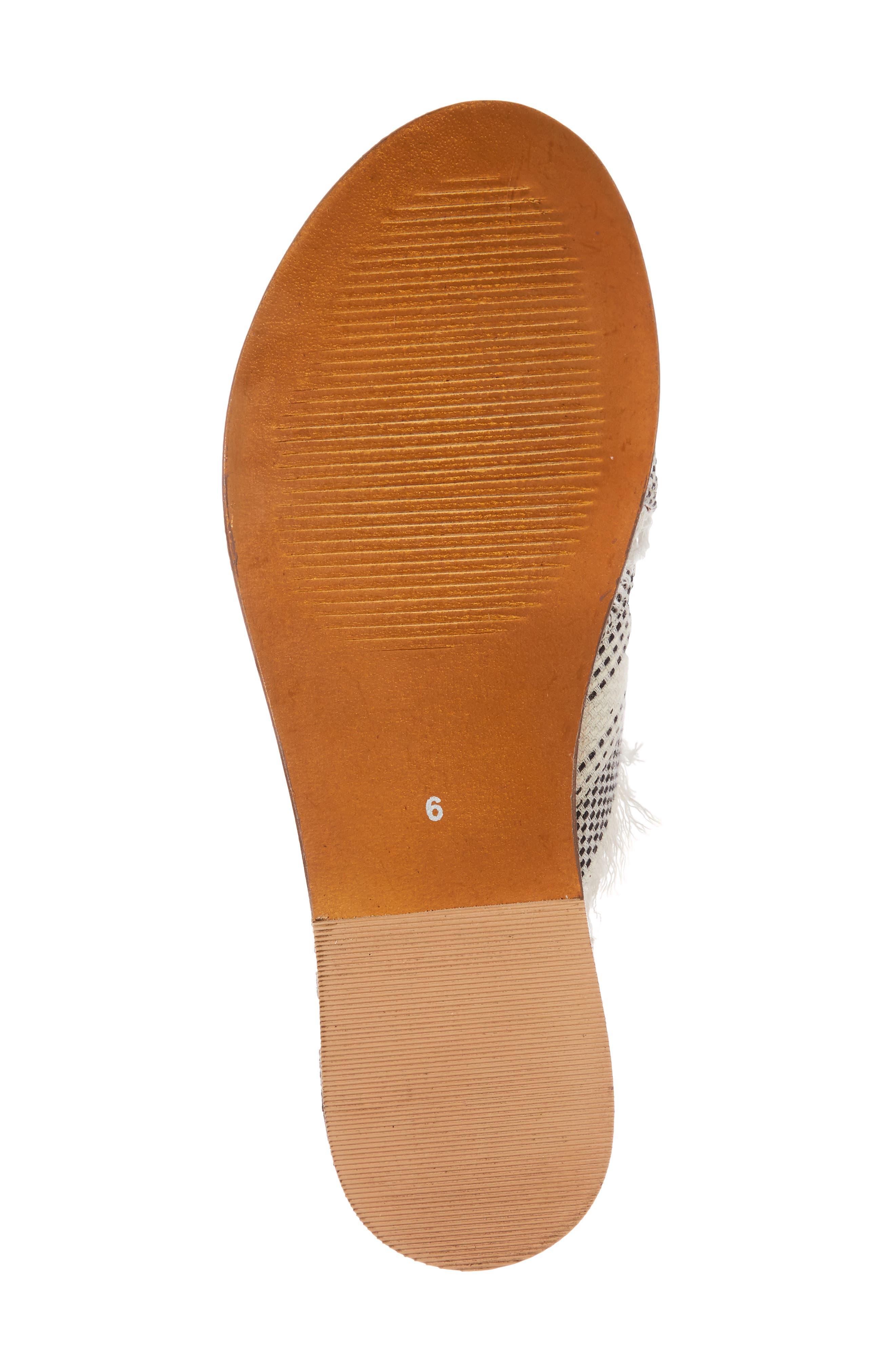 Riva Slide Sandal,                             Alternate thumbnail 6, color,                             White Multi