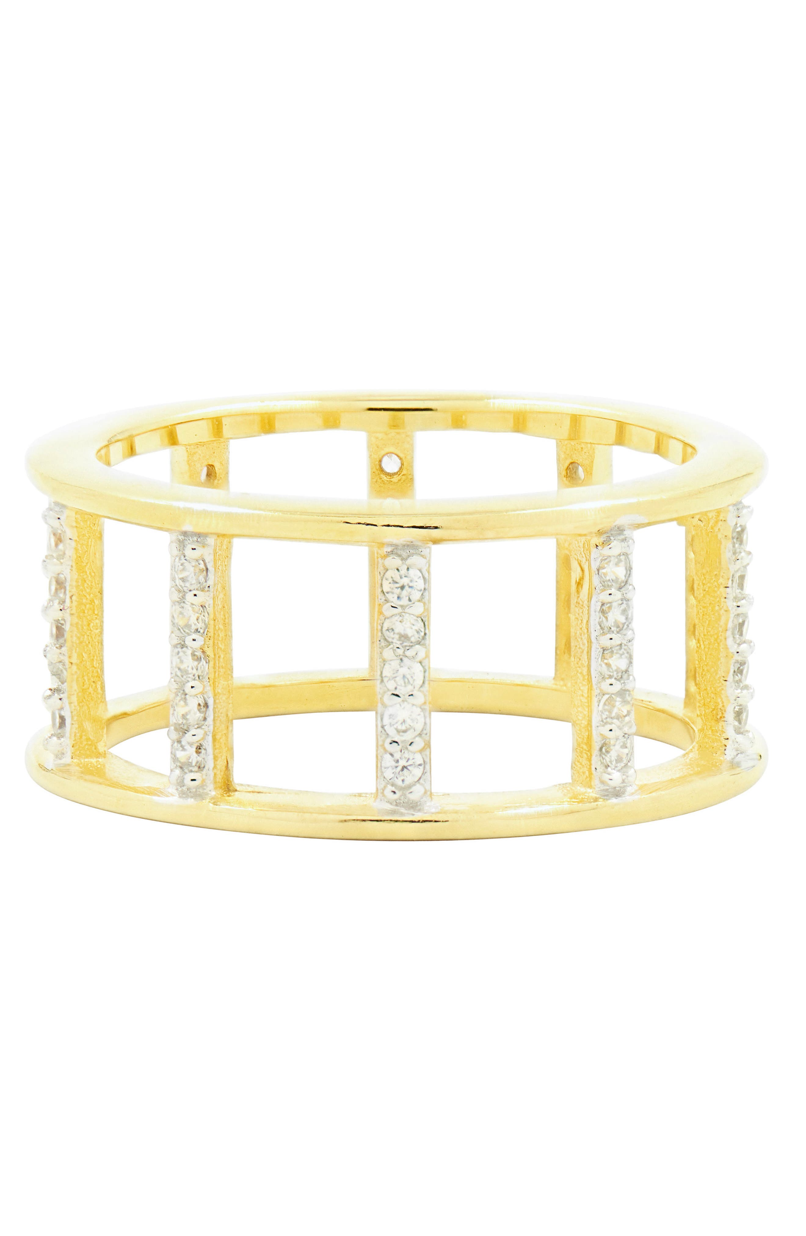Radiance Openwork Ring,                         Main,                         color, Silver/ Gold