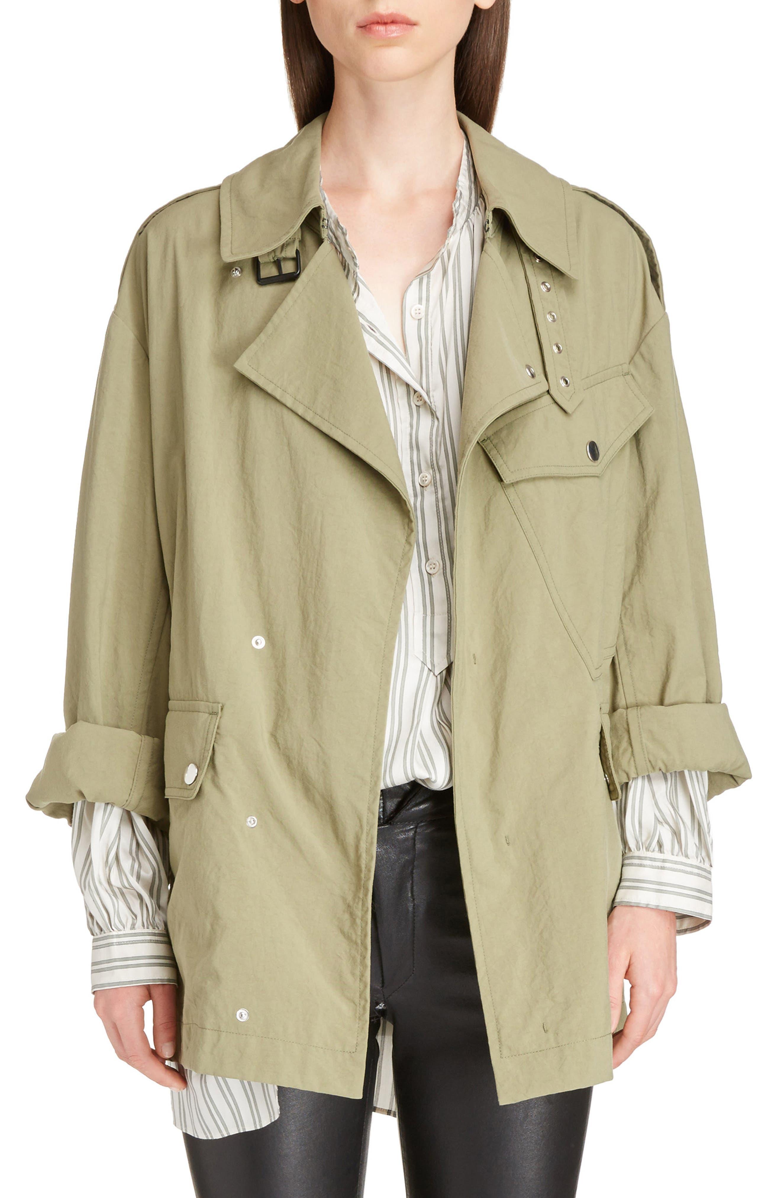 Lorenzo Field Jacket,                         Main,                         color, Khaki