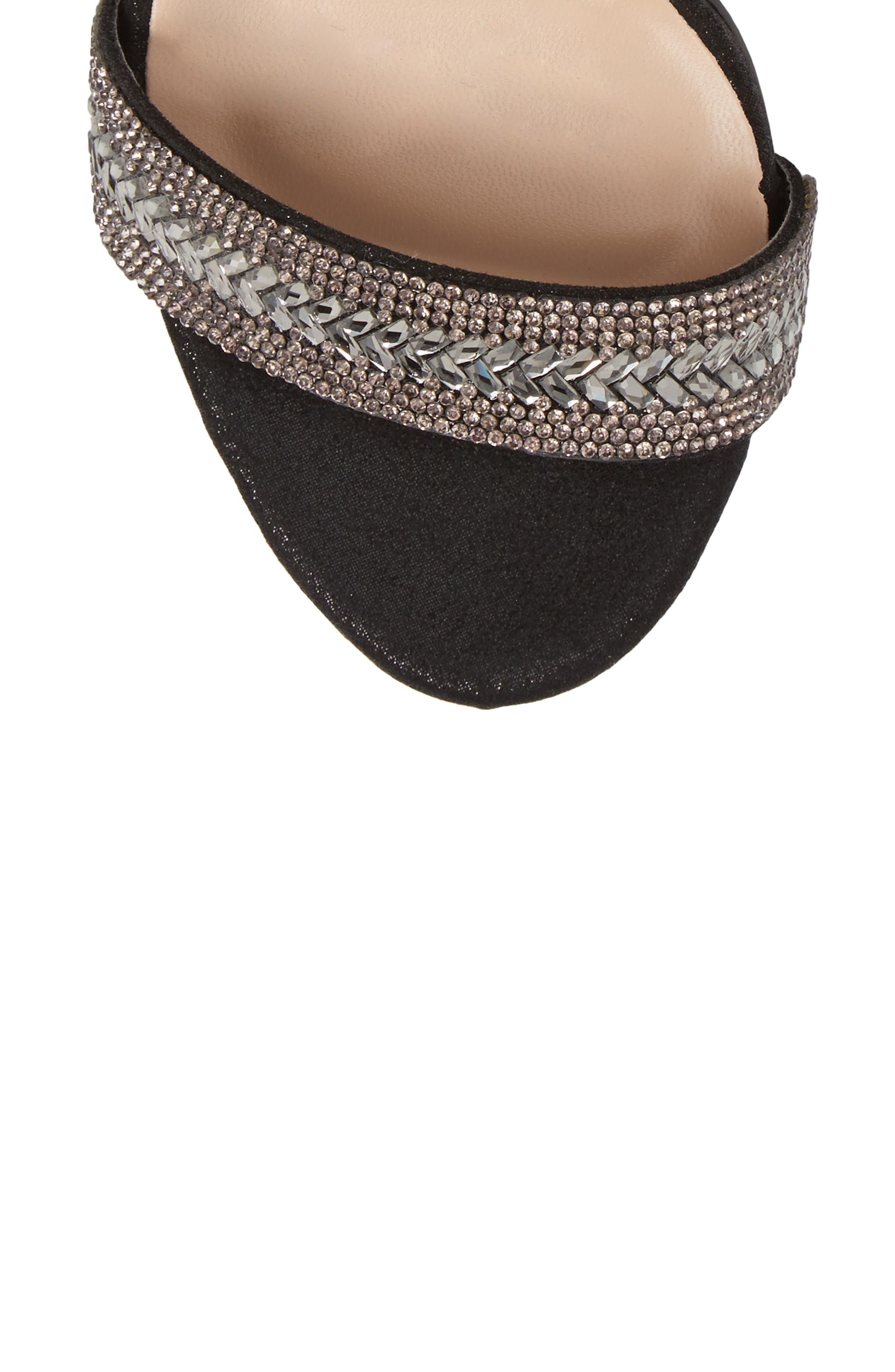 Alternate Image 5  - Lauren Lorraine Adelle Embellished Sandal (Women)