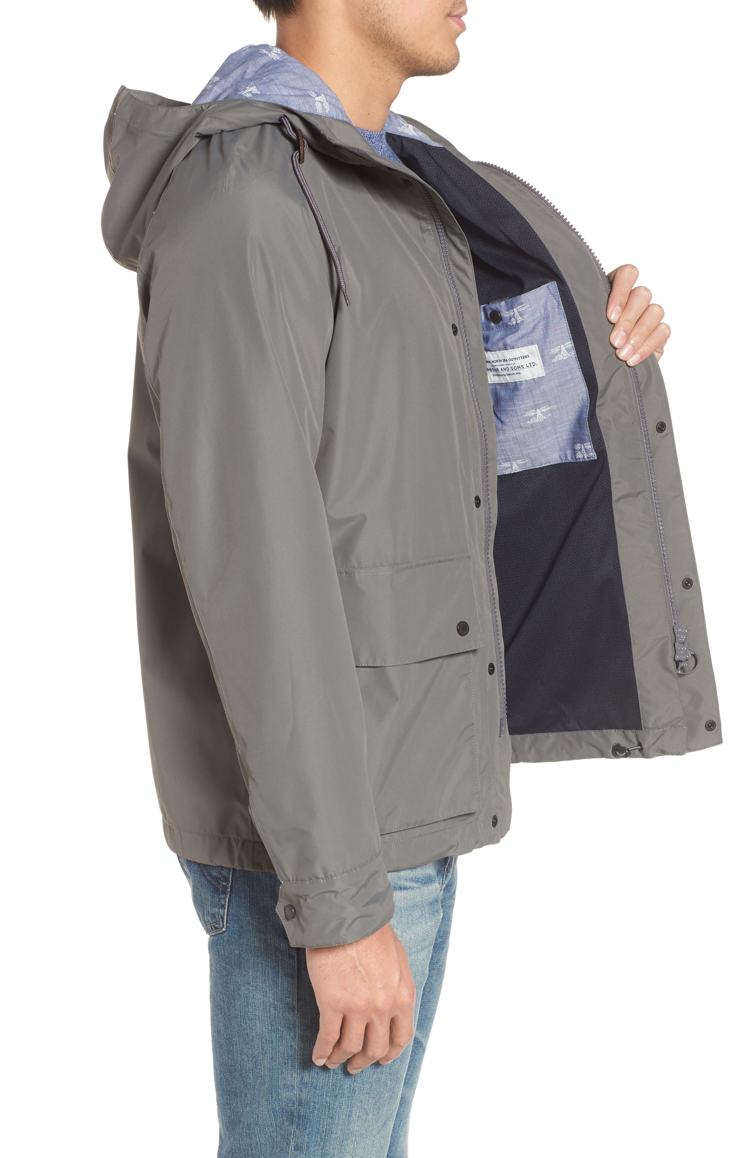 Twine Jacket,                             Alternate thumbnail 3, color,                             Grey
