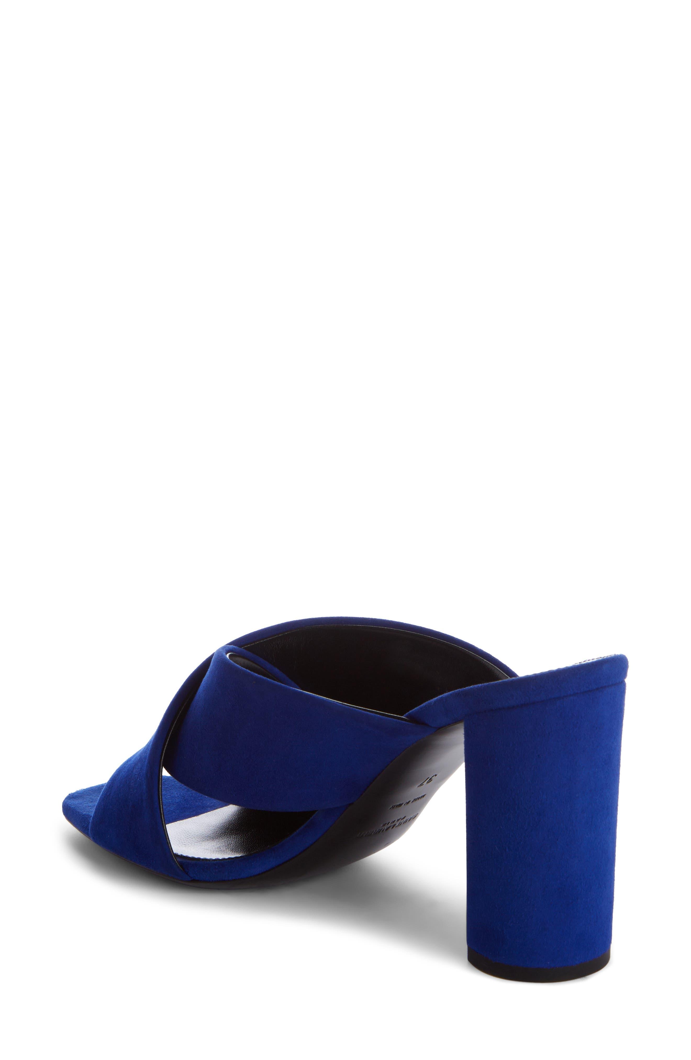 Loulou Sandal,                             Alternate thumbnail 2, color,                             Electric Blue